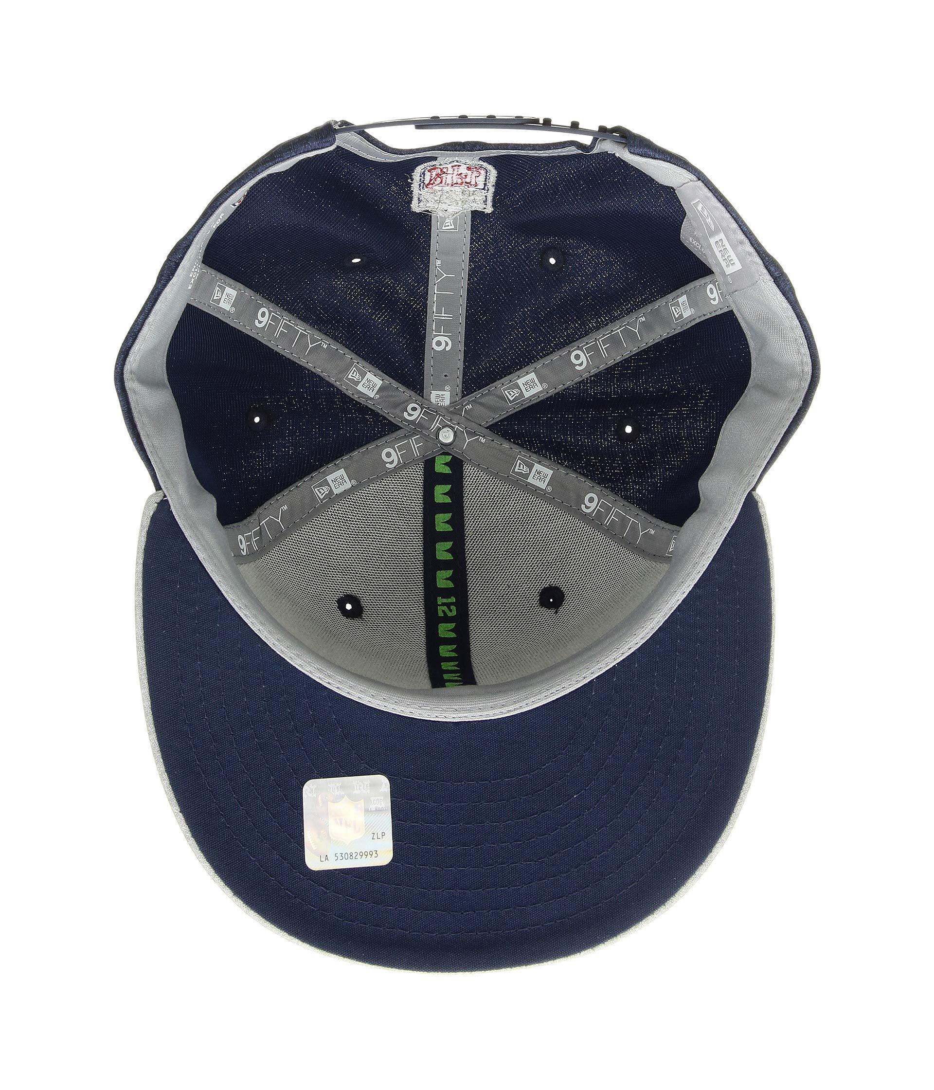 pretty nice caf7b 2e047 Lyst - KTZ 9fifty Official Sideline Away Snapback - Seattle Seahawks in  Blue for Men - Save 59%