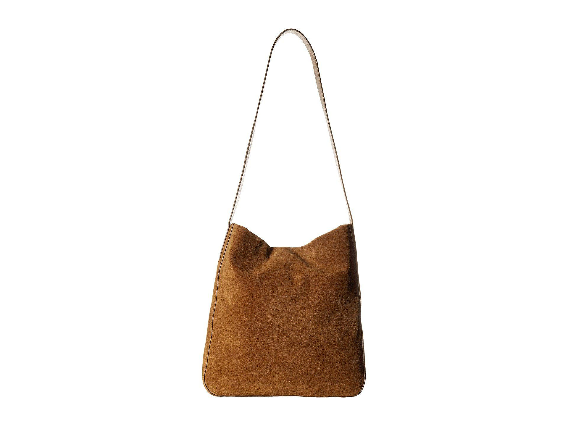 Lyst Lucky Brand Thorp Shoulder In Brown