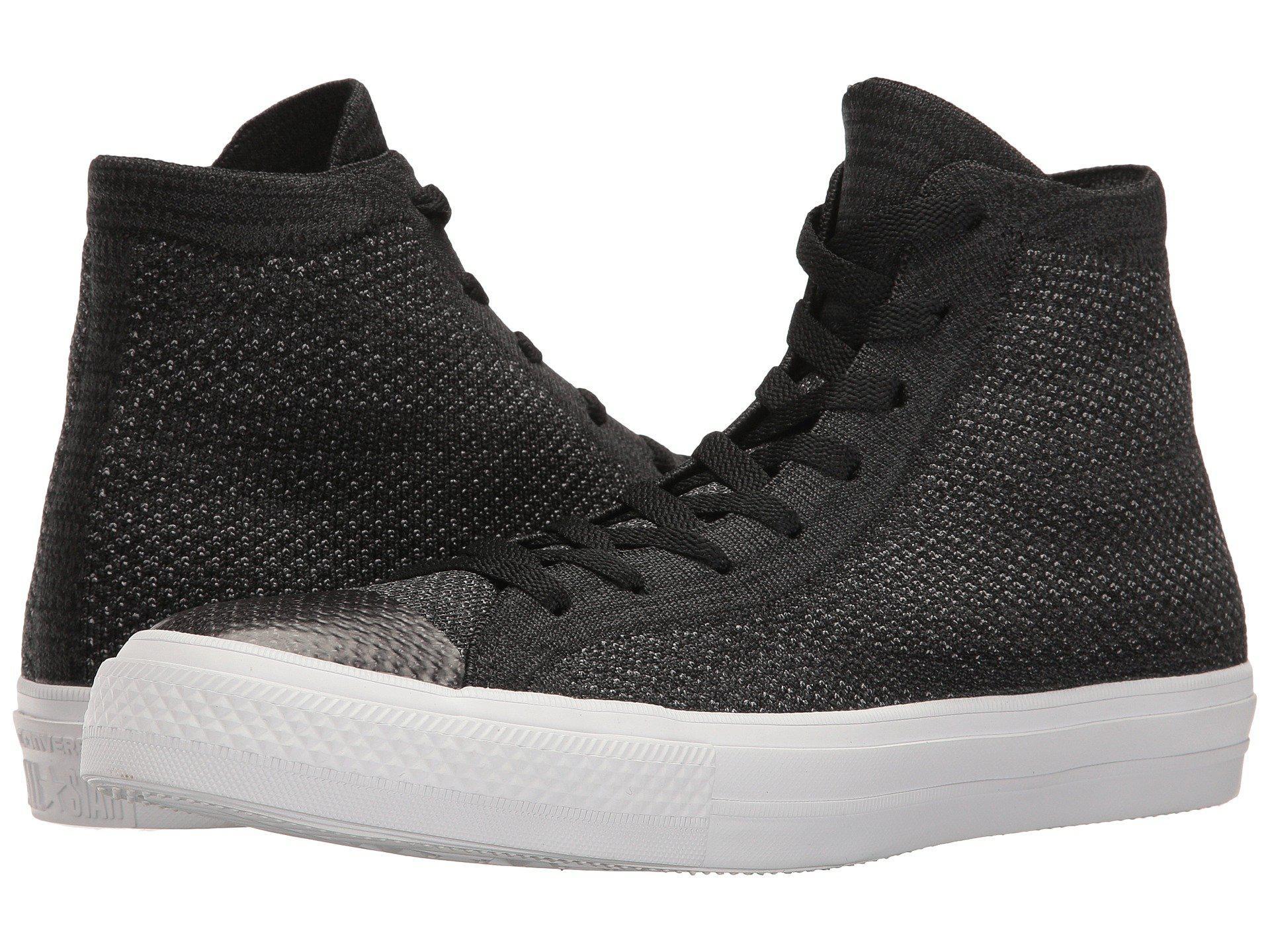 b1153834197d Lyst - Converse Chuck Taylor® All Star® X Nike Flyknit Hi in Black