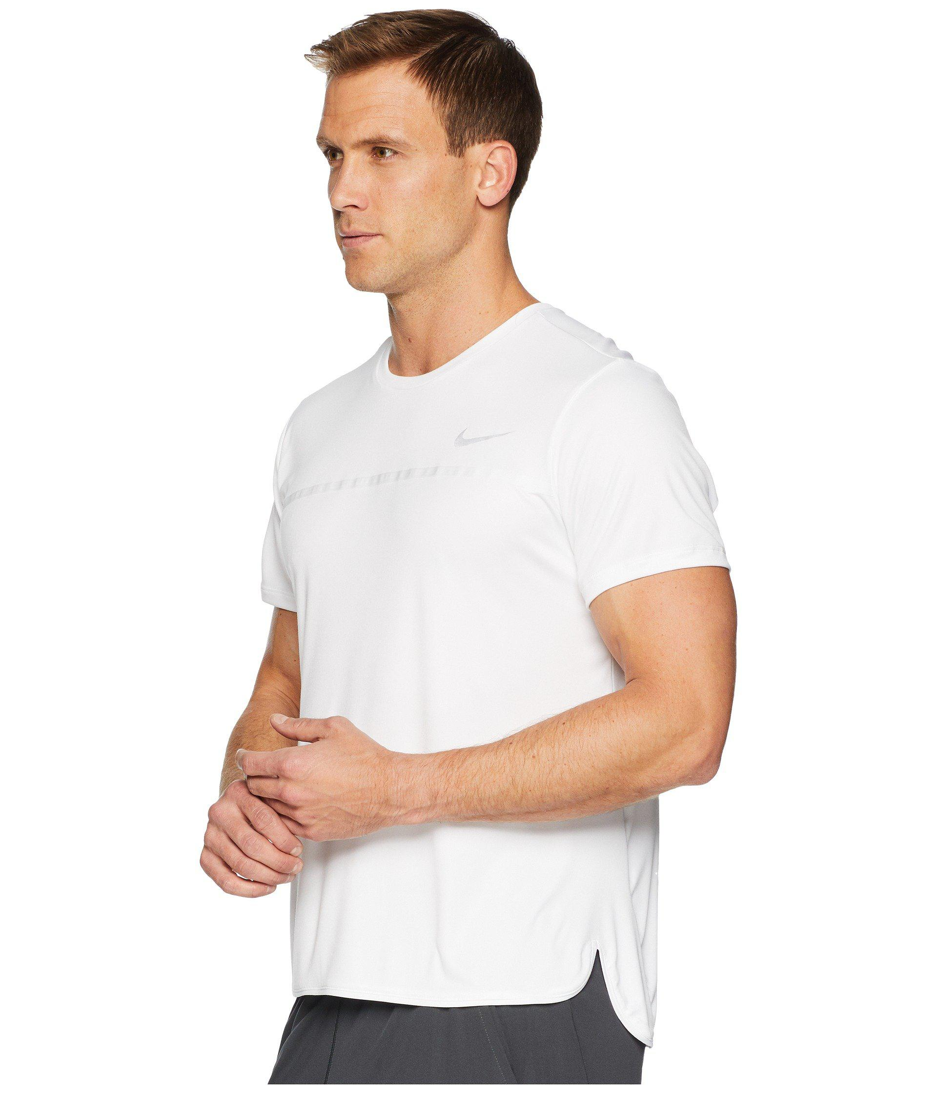 5c4e79b2 Lyst - Nike Challenger Crew in White for Men - Save 12%