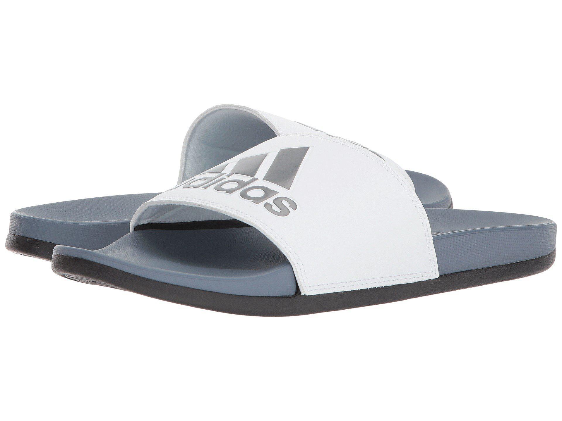 e023f7e2648e09 Lyst - adidas Adilette Cf+ Logo for Men - Save 35%