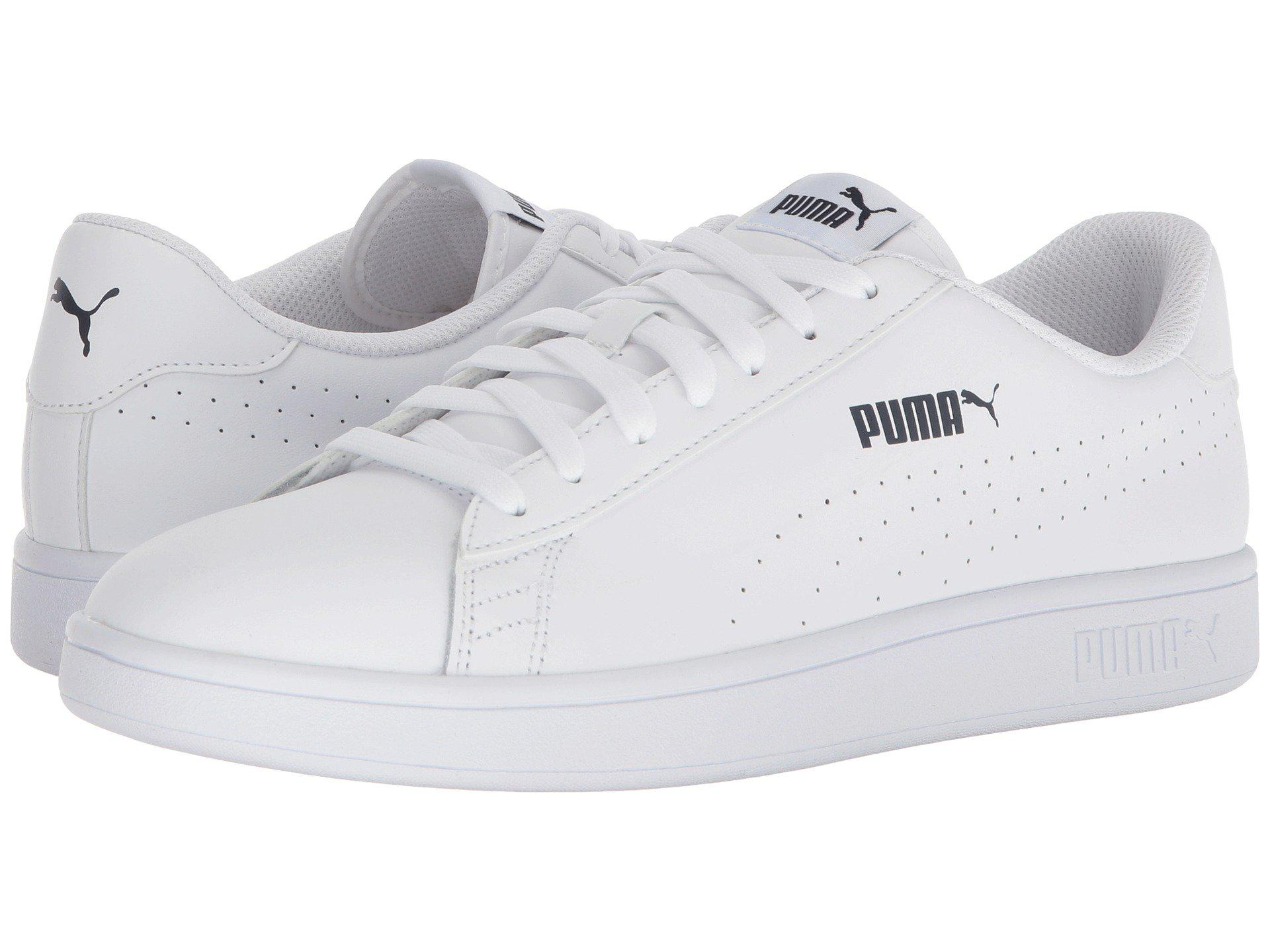 a7beff37235b Lyst - PUMA Smash V2 L Perf in White for Men