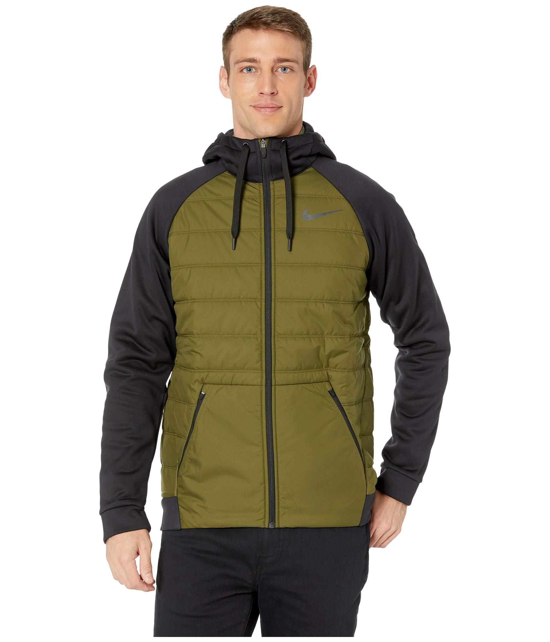 bf7a62cdf6b7 Lyst - Nike Therma Full Zip Winterized in Green for Men - Save 7%