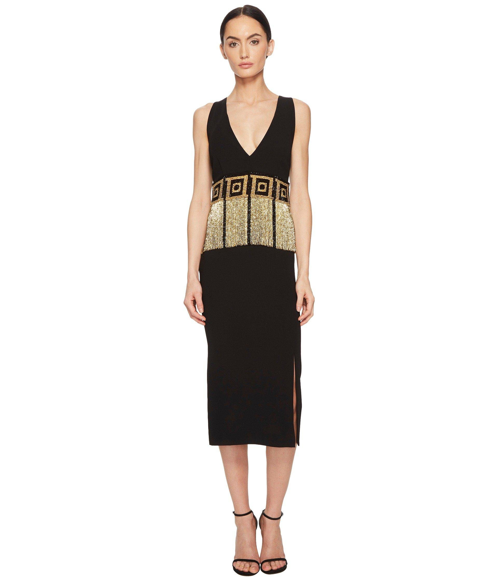 a1c2c72c00ab Lyst - Versace Abito Donna Tessuto Gown in Black