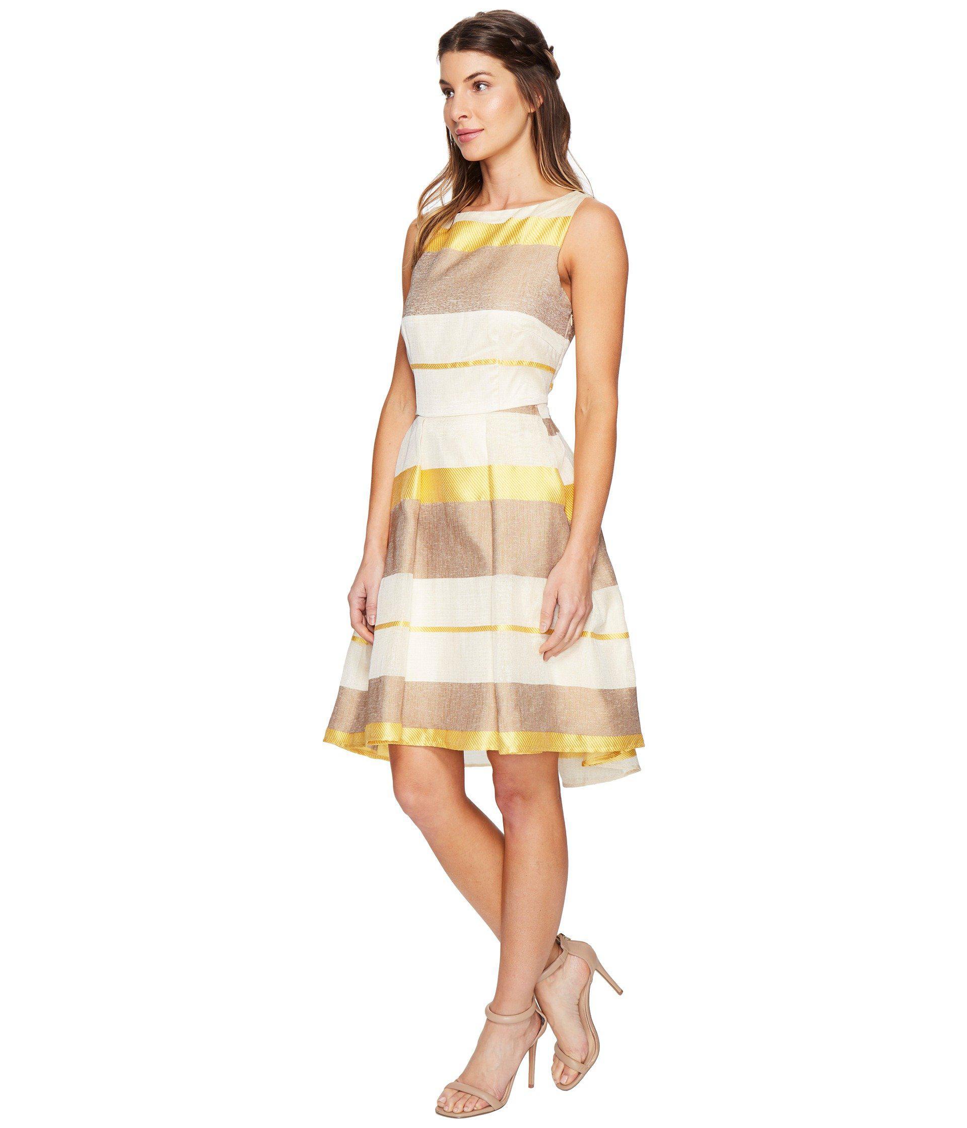 Eva By Eva Franco Cassie Dress In Yellow Lyst