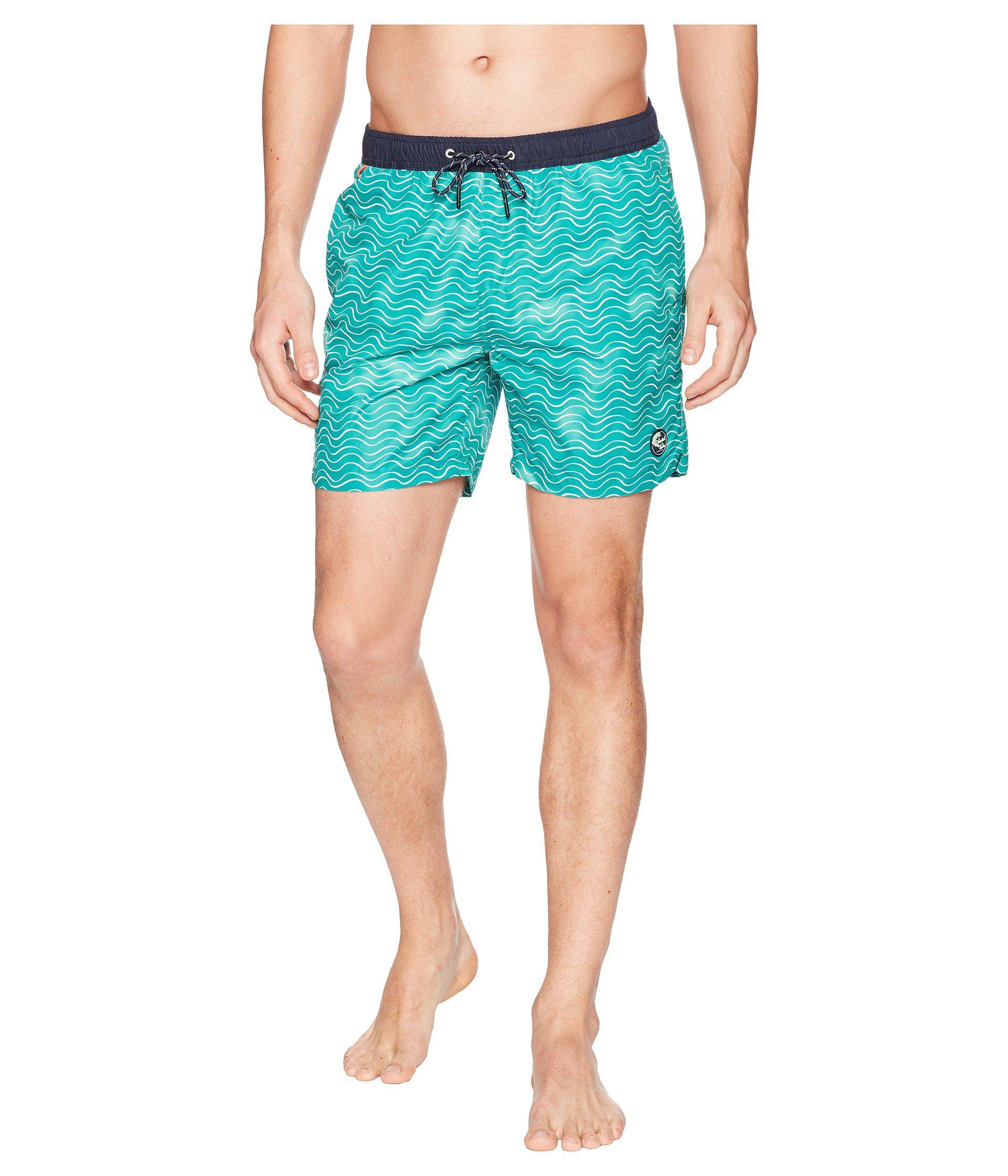 219c1a8d36 Lyst - Scotch & Soda Classic Swim Shorts With Fresh Two-tone All ...