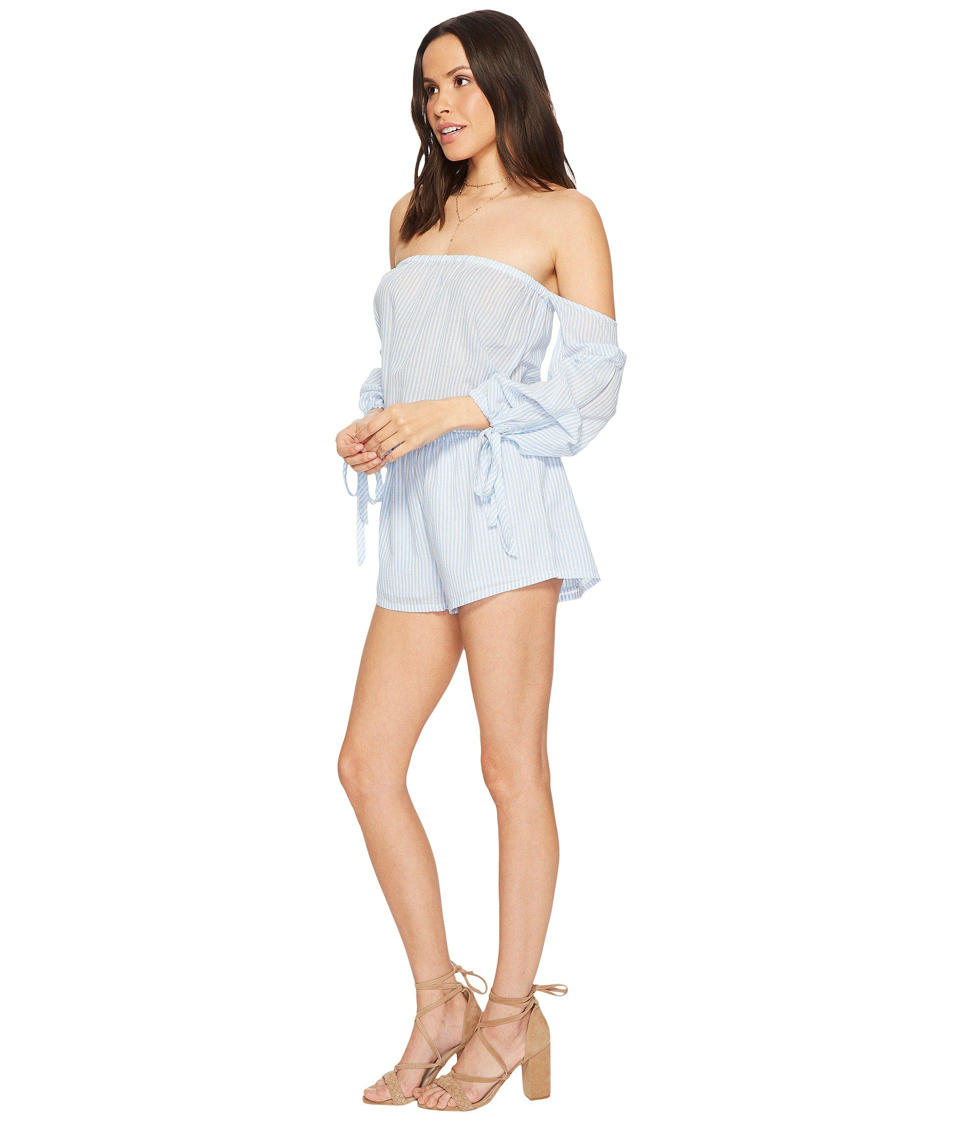 e1af09d17331 Lyst - Young Fabulous   Broke Newport Romper in Blue - Save 62%
