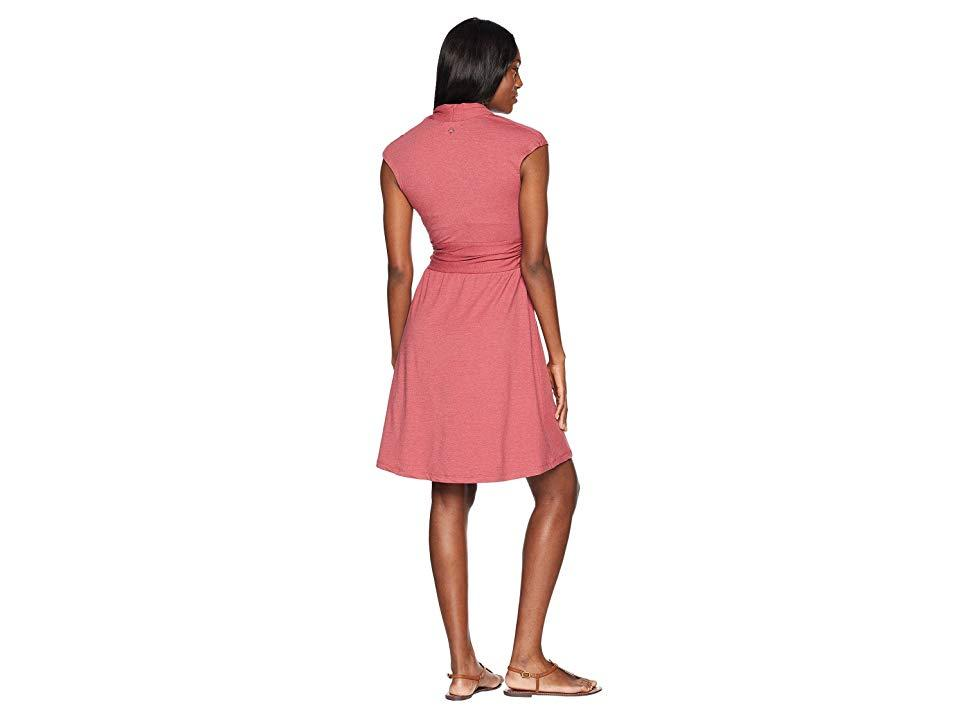 39ebbb11c7 Prana Berry Dress (crushed Cran) Dress in Red - Lyst