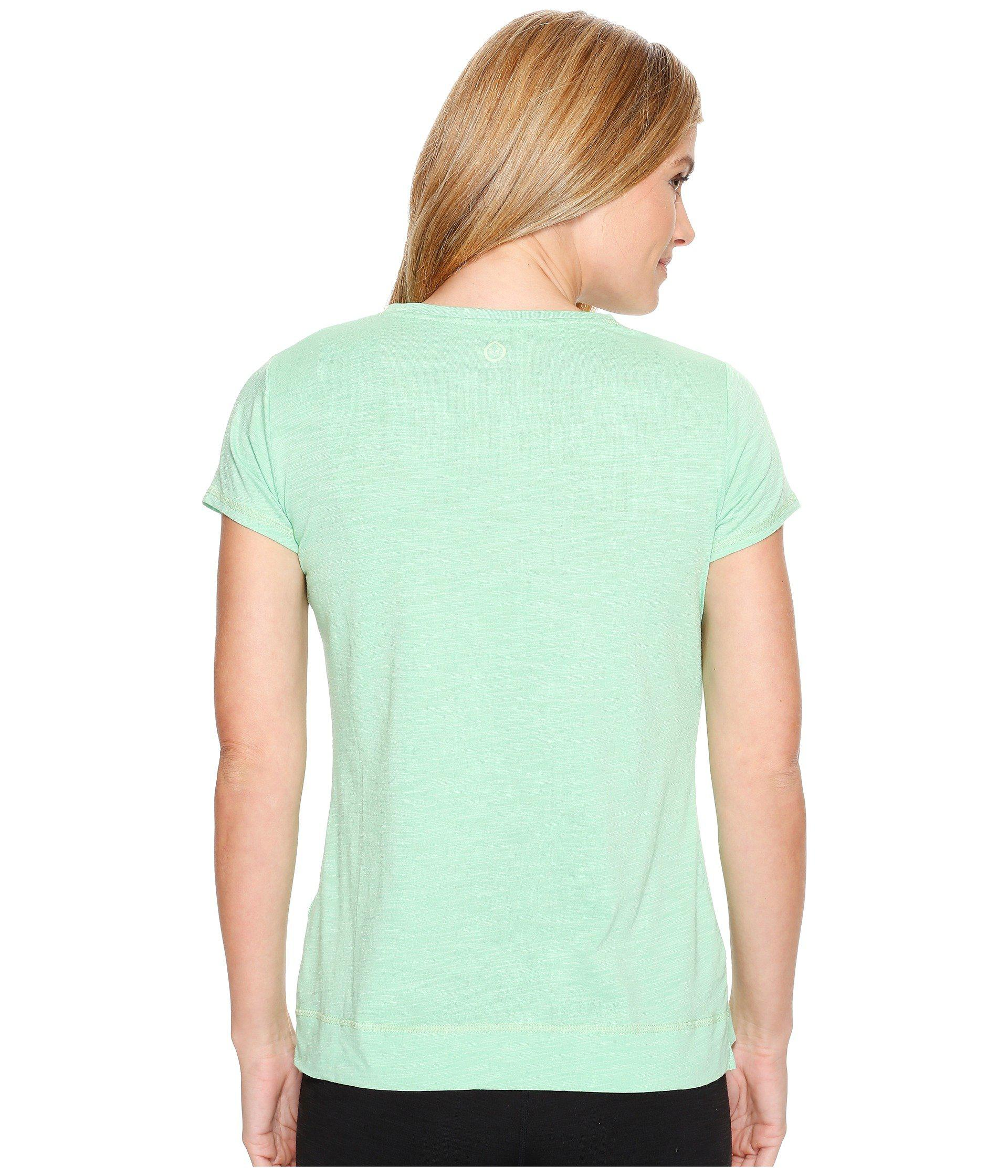 Lyst - Tasc Performance Streets V Top in Green - Save 8%