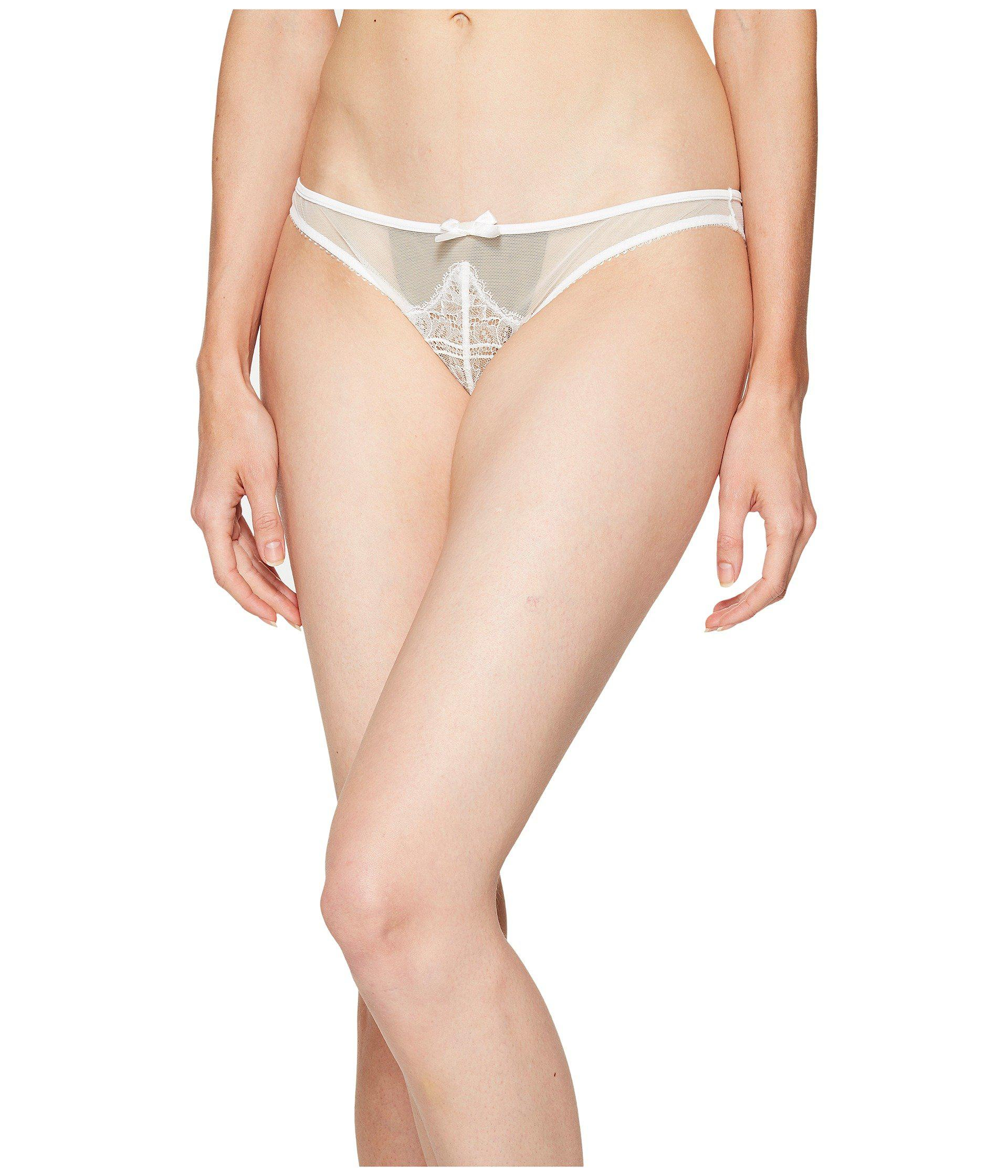 272a1caea9 Lyst - L Agent by Agent Provocateur Madalene Mini Brief in Natural ...