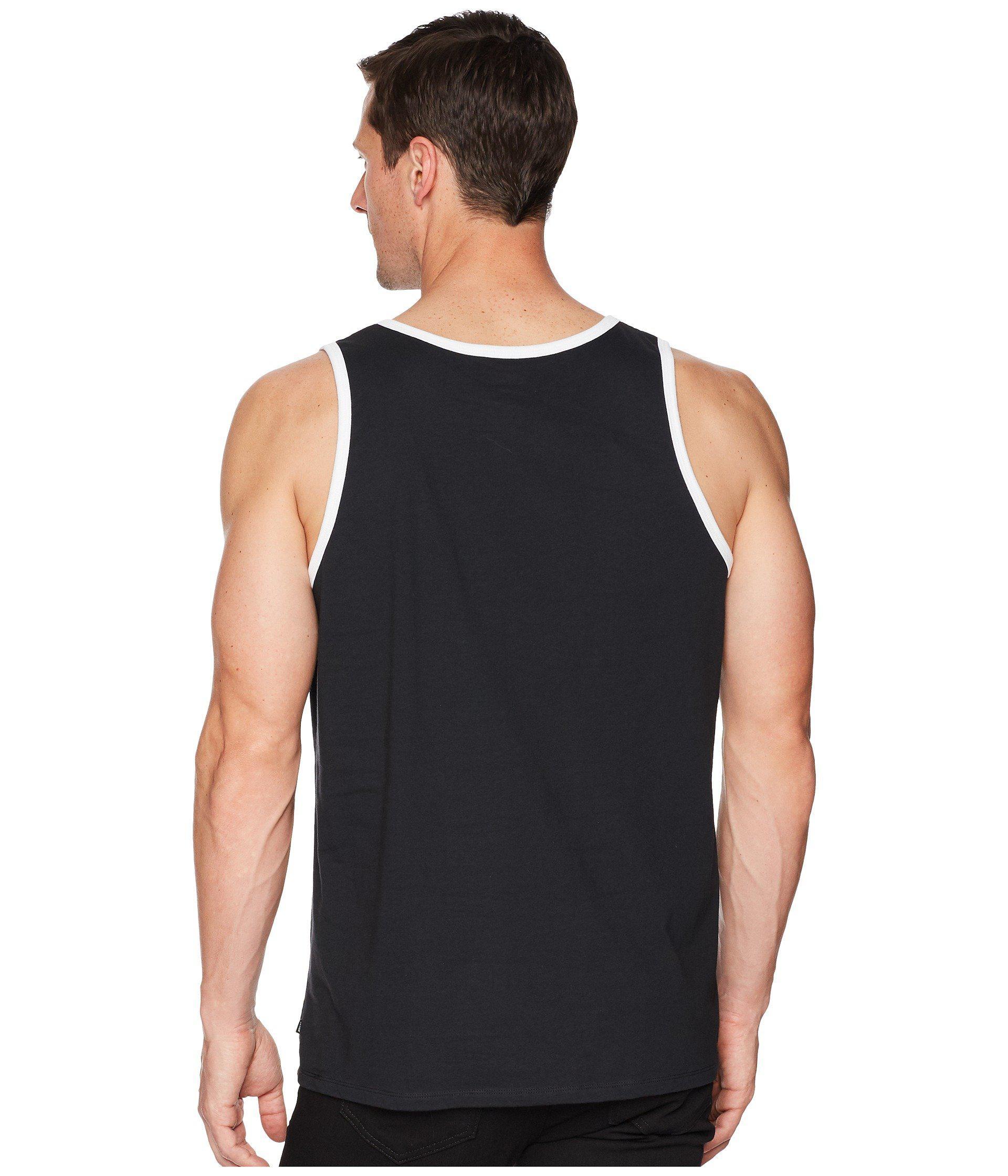 02f767714c3526 Lyst - Nike Sb Tank Top Ringer in Black for Men