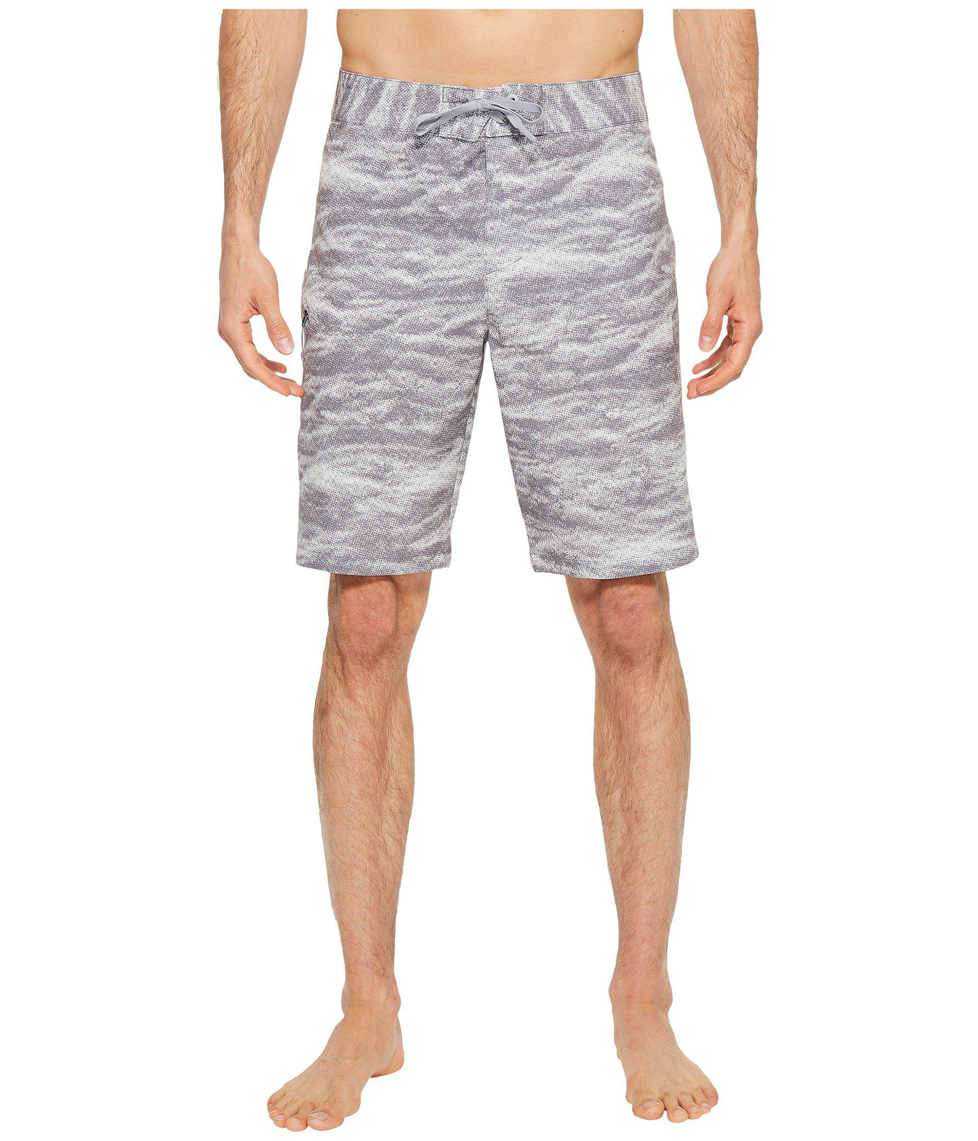 08e618c82d Under Armour Ua Reblek Printed Boardshorts in Gray for Men - Lyst