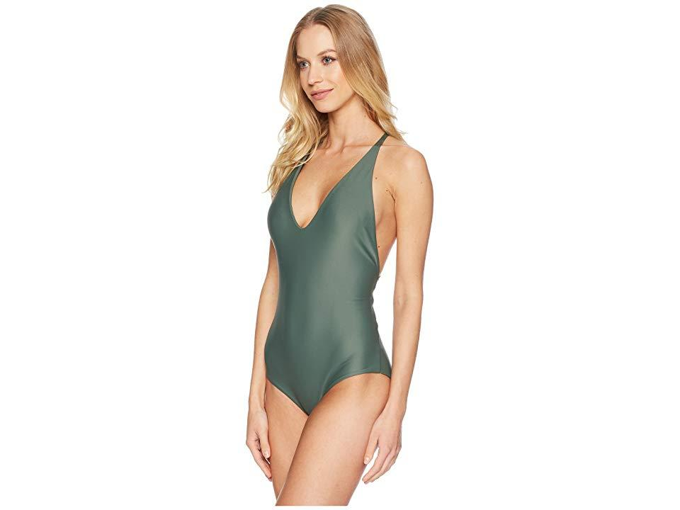 702d8c510fc Mikoh Swimwear Ipanema One-piece (army) Swimsuits One Piece in Green ...