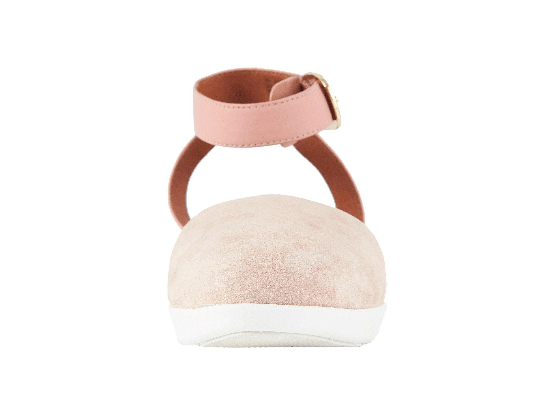 42681fed5 Fitflop Cova Closed Toe Sandals in Pink - Lyst