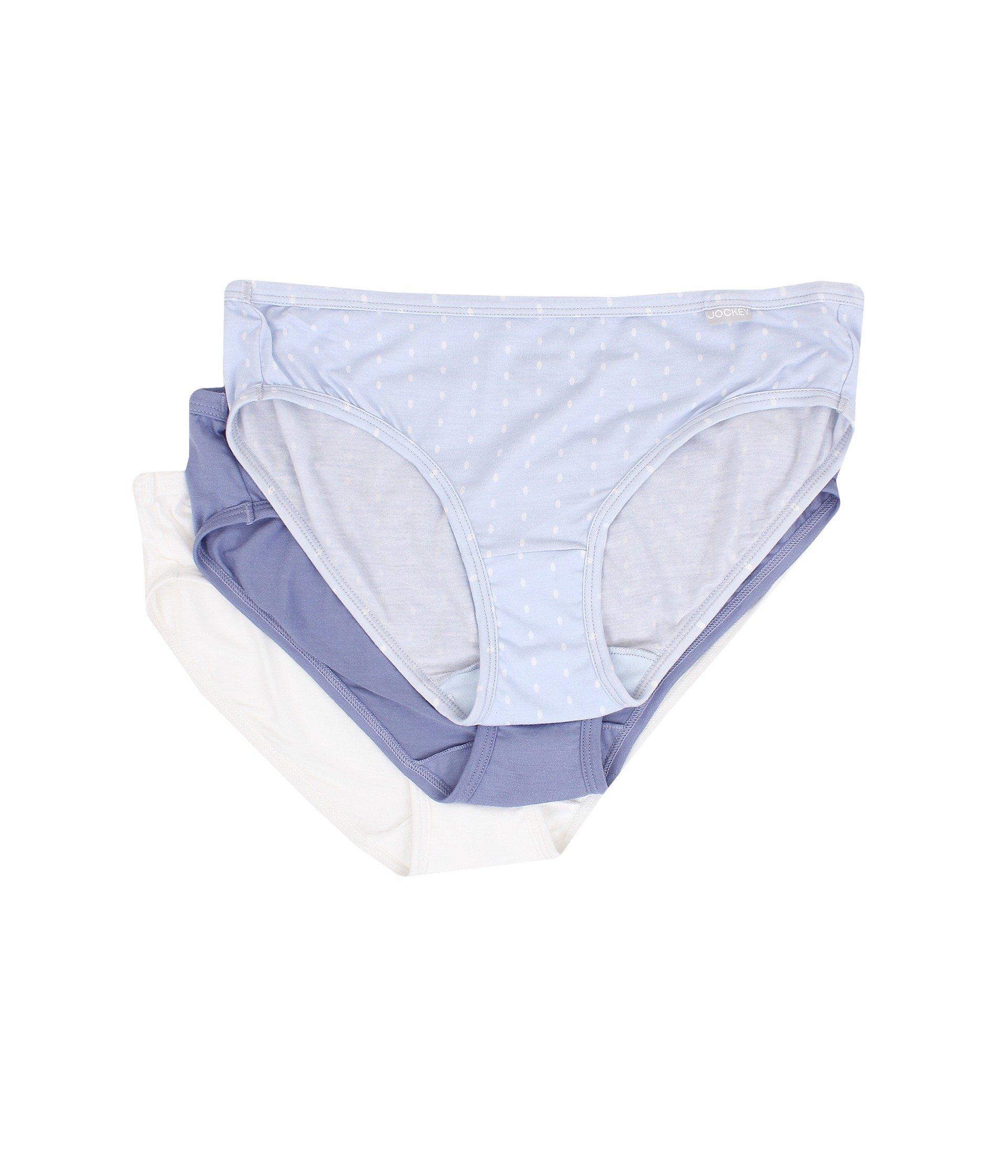 6154f8bc5e8dc7 Lyst - Jockey Elance® Supersoft Bikini 3-pack - Save 38%