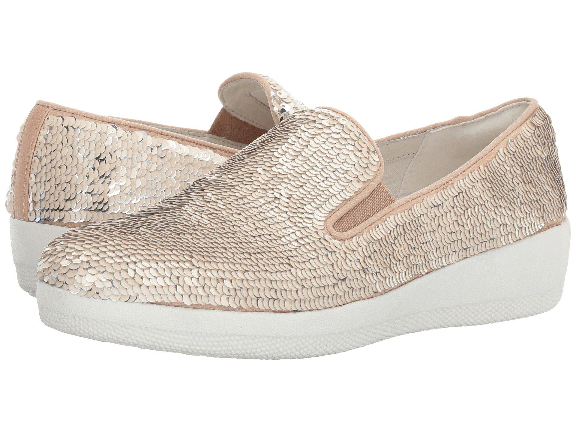 b4031d2b8 Lyst - Fitflop Superskate W  Sequins in Natural