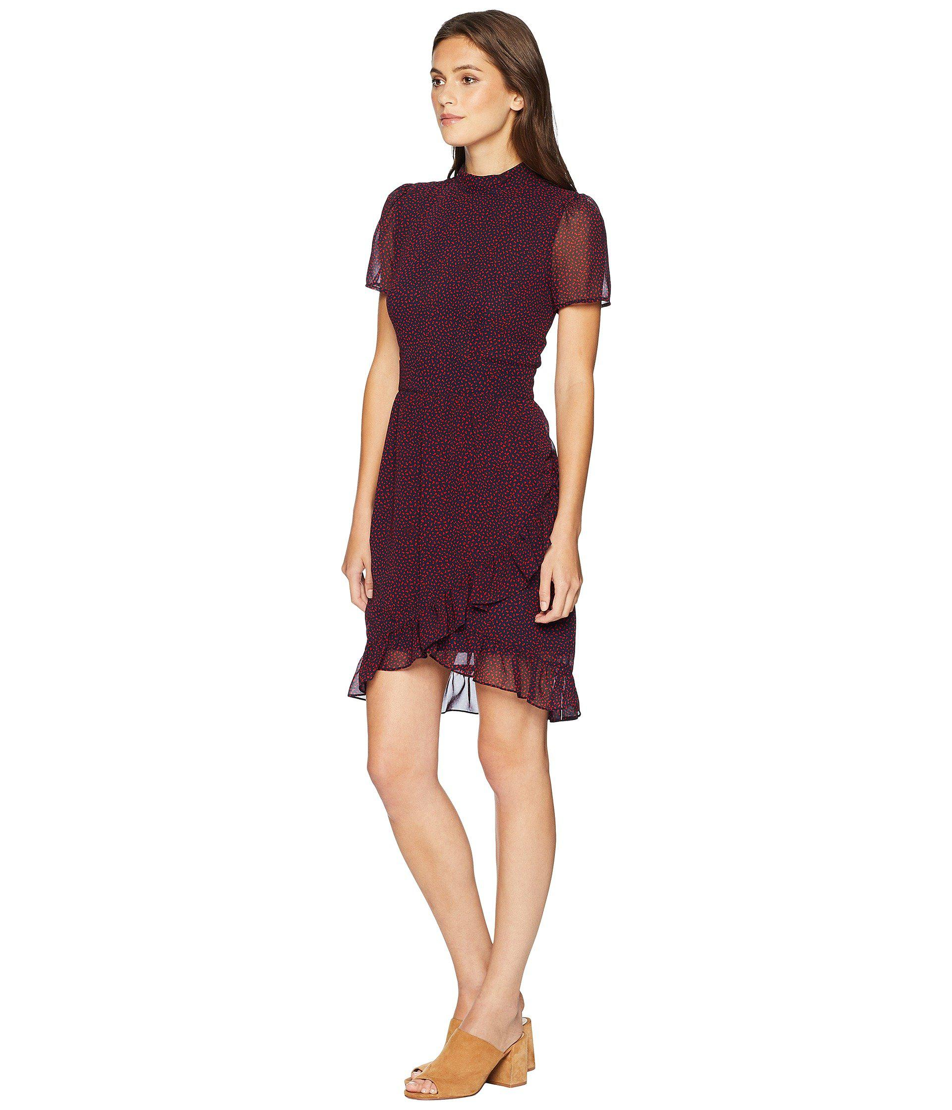 dca1d291140b Lyst - Juicy Couture Ditsy Floral Flirty Dress in Purple
