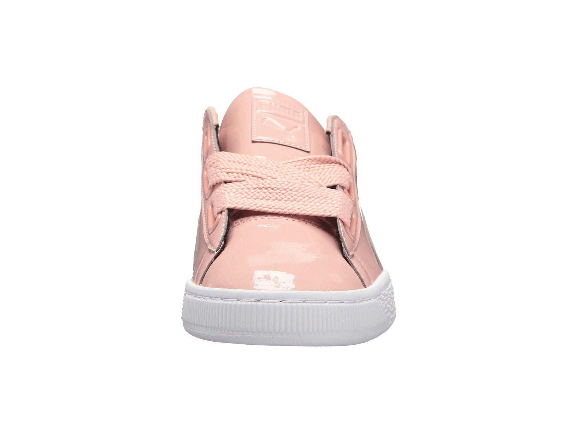 0c9a9bff0a2159 Lyst - Puma Basket Heart Patent - Save 20.33898305084746%