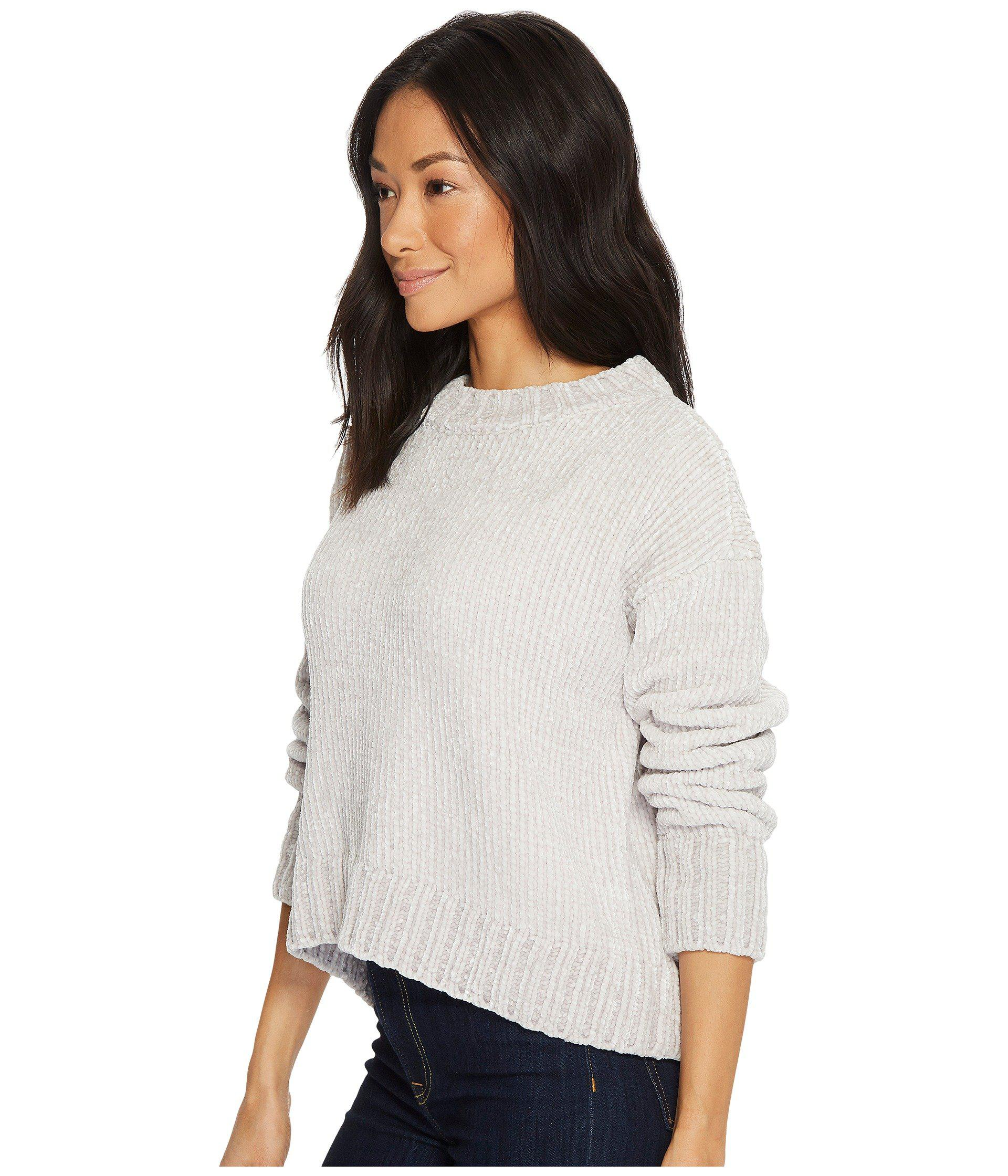9d5eb6763efd2 Lyst - Sanctuary Chenille Pullover Sweater in White - Save 52%