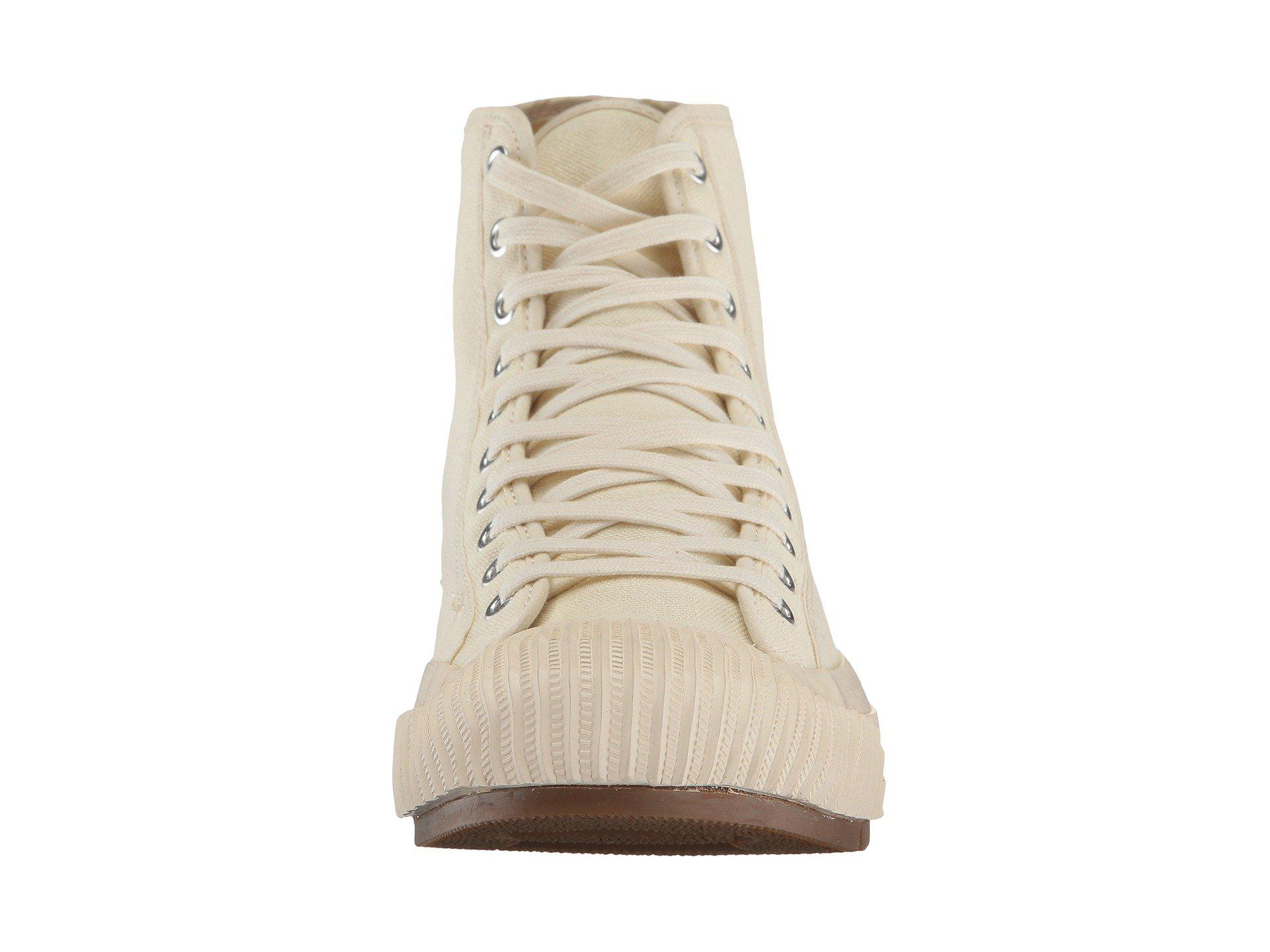 factory price ff644 f89ad PF Flyers Grounder Hi in Natural for Men - Lyst