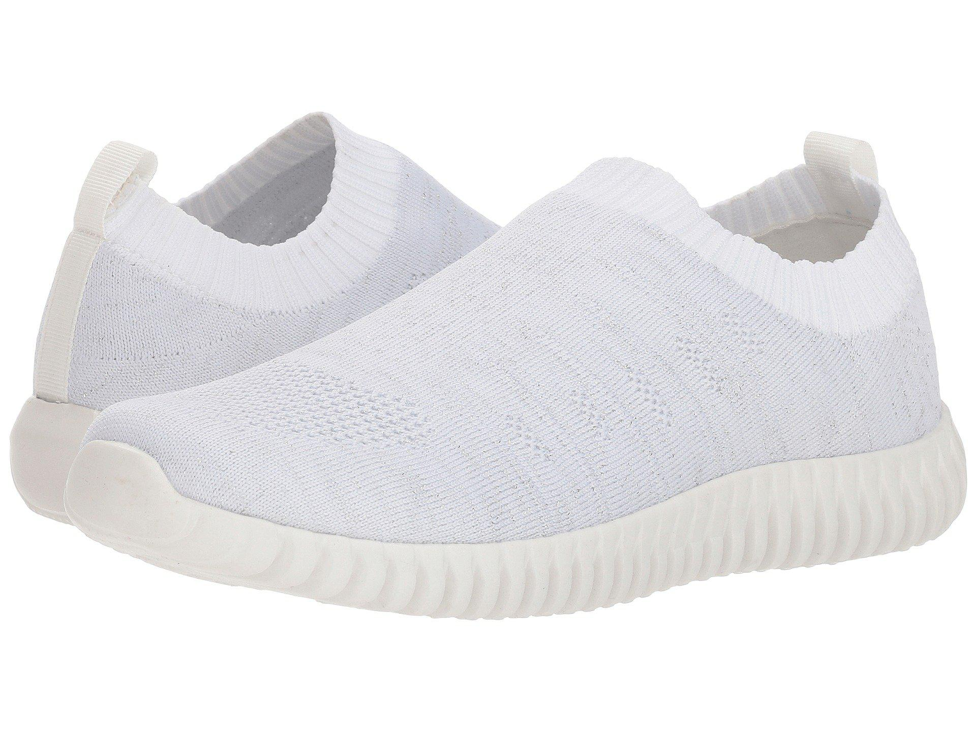 17427a7e6b7707 Lyst - Dirty Laundry Haywood Knit Sneaker in White