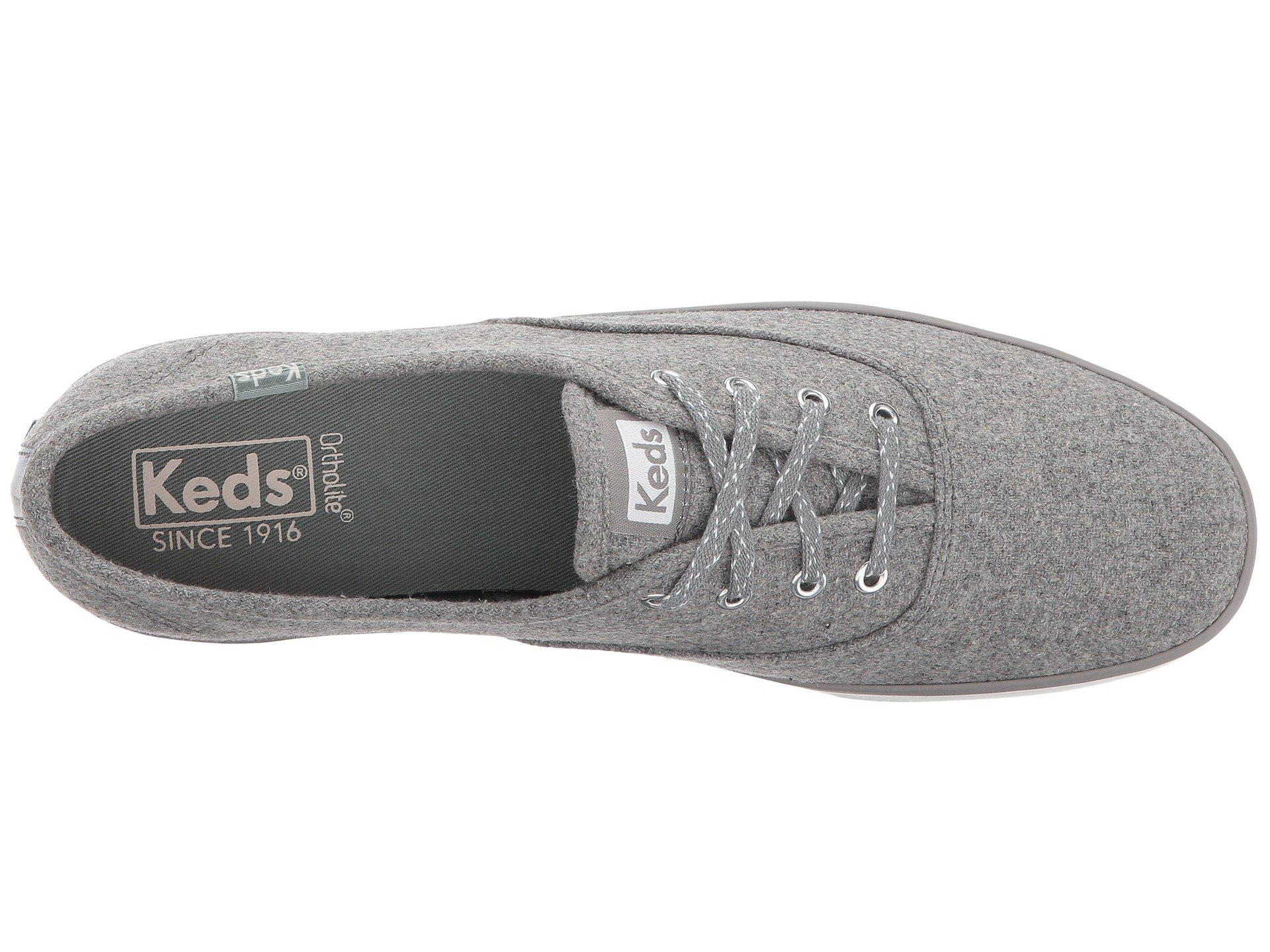 7eaa414837a Lyst - Keds Champion Wool in Gray