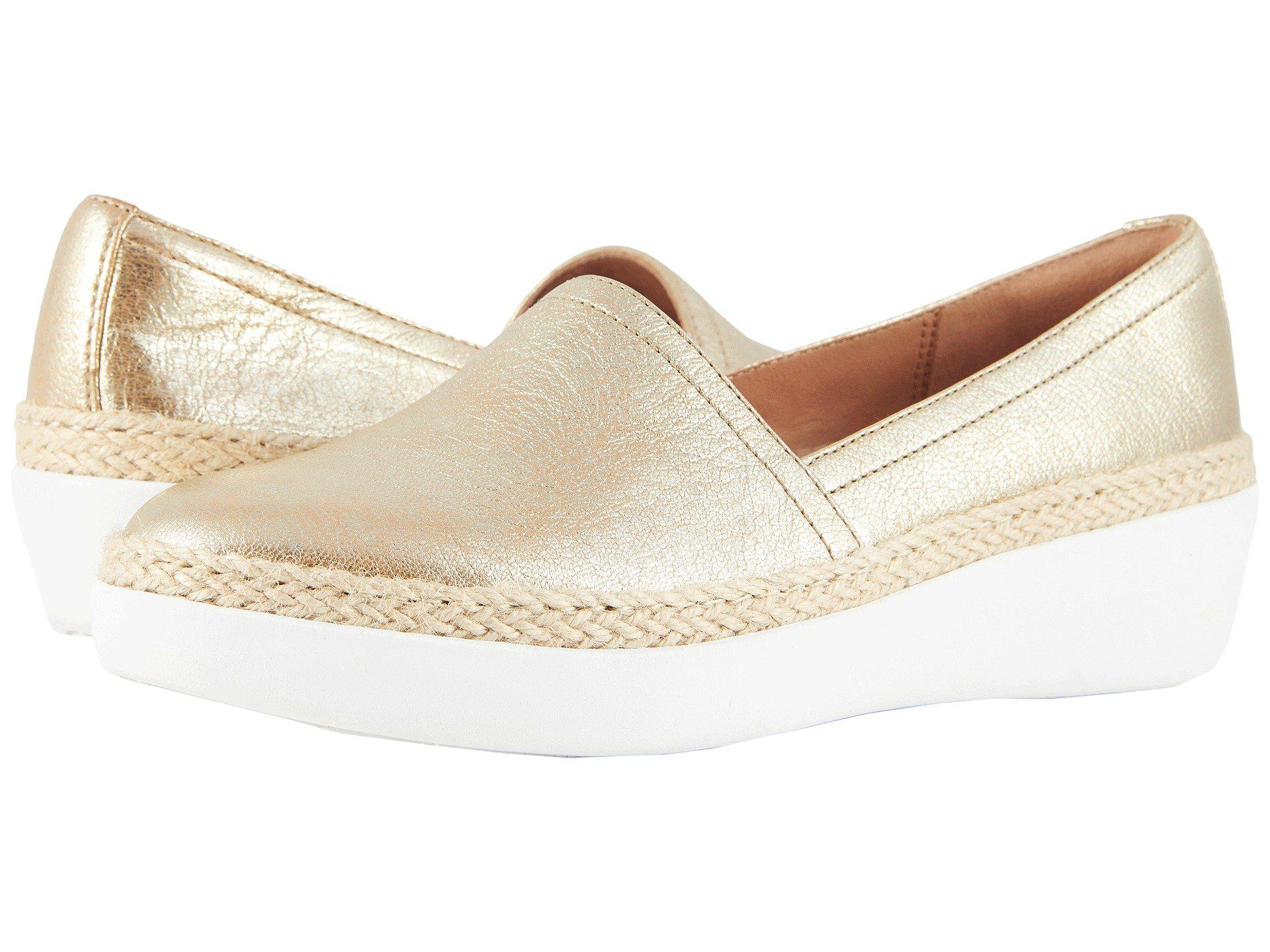 db34695bfdf3 Lyst - Fitflop Casa Loafers in Metallic - Save 43%