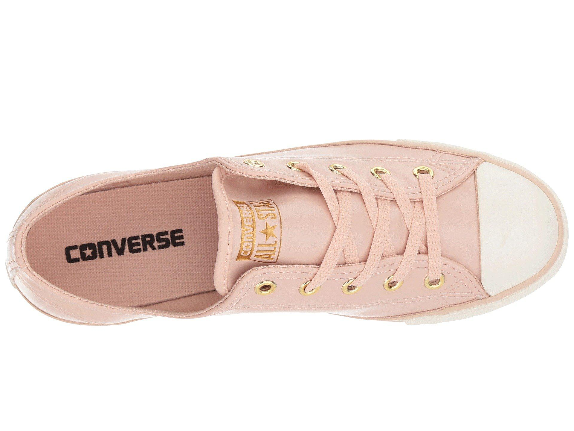 35d22c5aa83 Lyst - Converse Chuck Taylor All Star Dainty - Ox Craft Sl in Pink