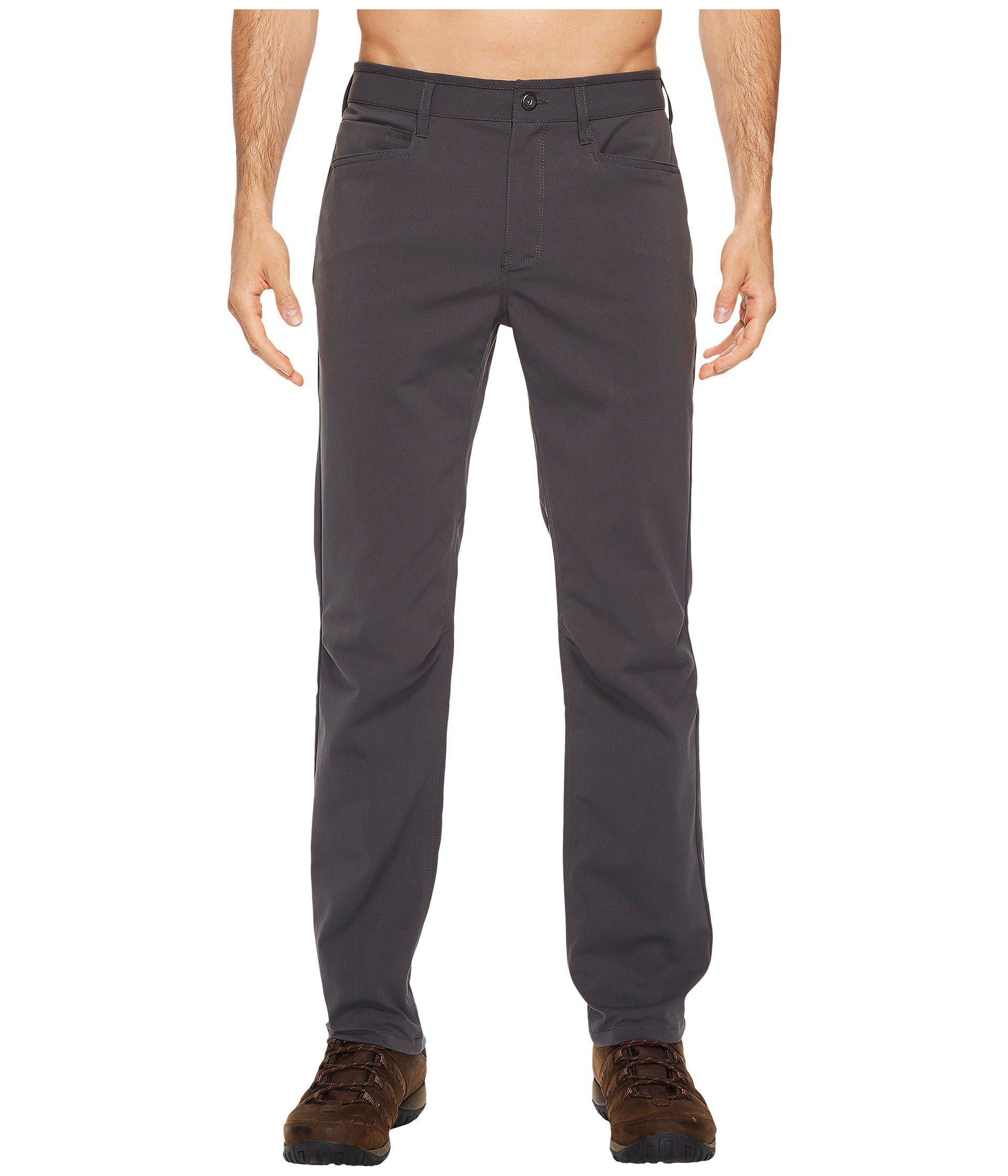 Mountain Hardwear. Men's Gray Mt5 Pants