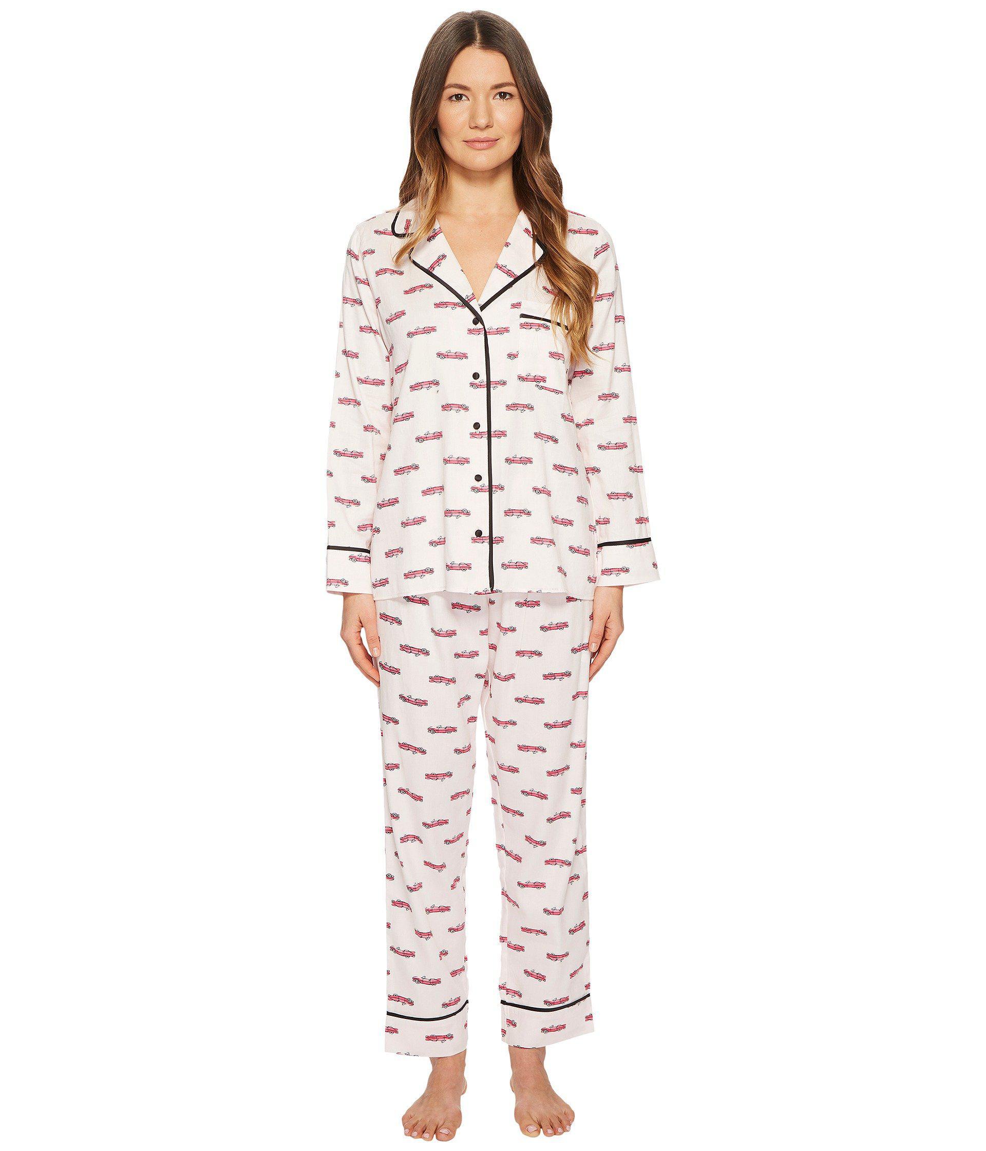 Lyst - Kate Spade Hot Rod Pajama Set