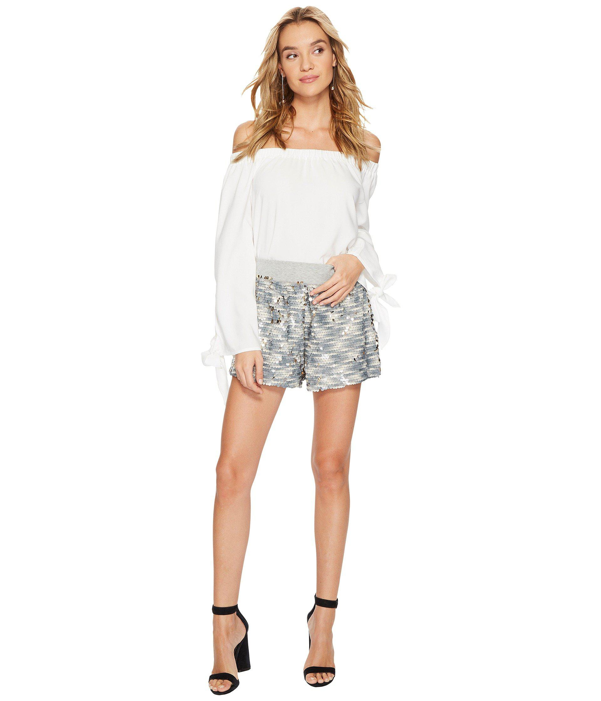 14147443a3596 Bishop + Young - White Avery Off Shoulder Top - Lyst. View fullscreen
