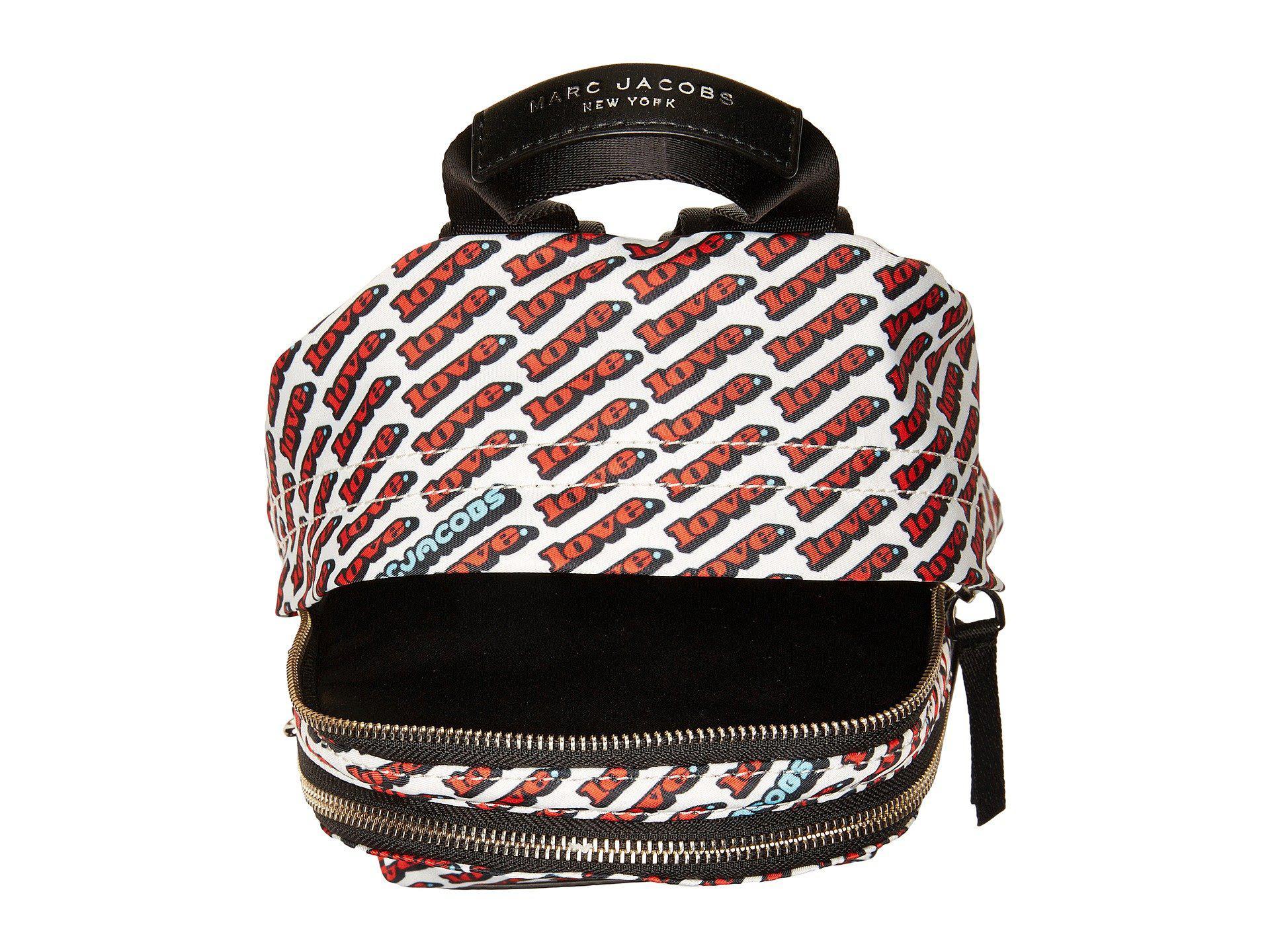 Lyst - Marc Jacobs Trek Pack Love Mini Backpack e6c5015b2f