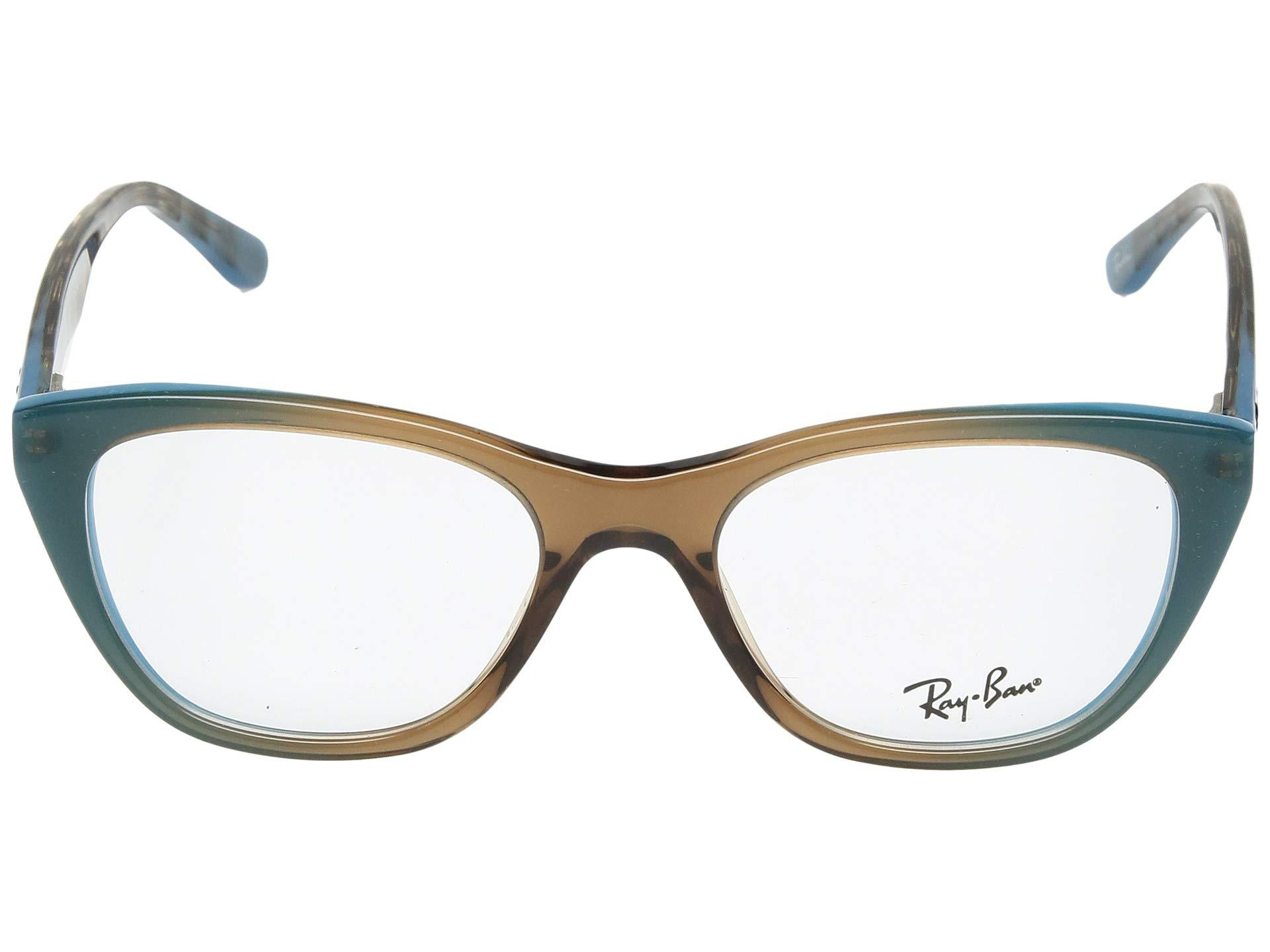 4f24150a36e Lyst - Ray-Ban 0rx5322 in Brown