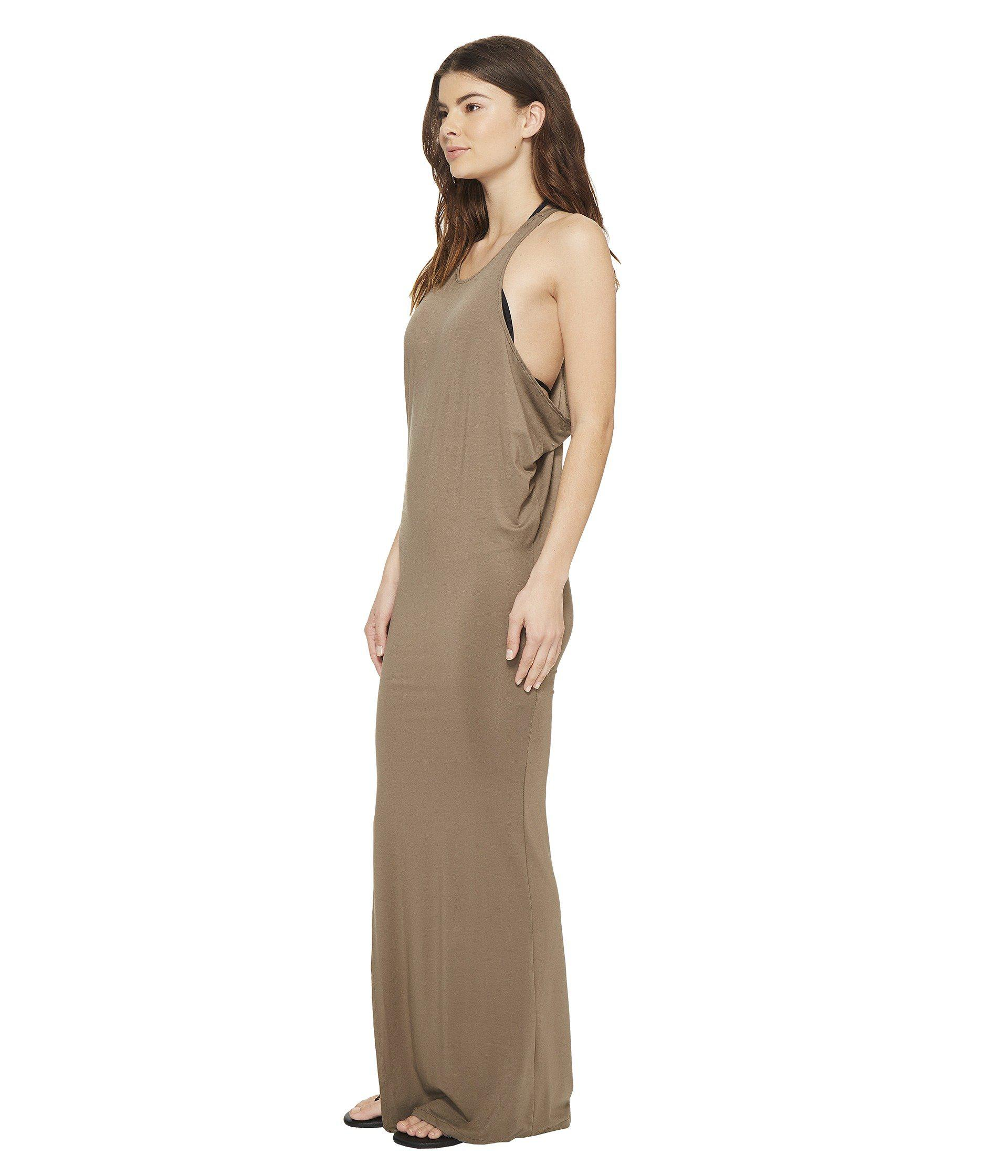 801f44eecc Lyst - Mikoh Swimwear Mavericks High Neck Maxi Dress