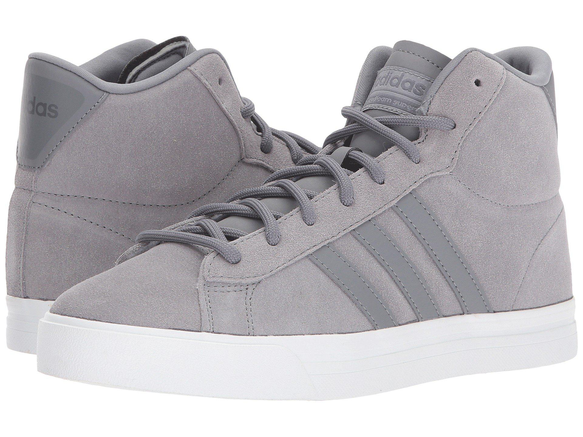 250fa822626e Lyst - adidas Cloudfoam Super Daily Mid in Gray for Men
