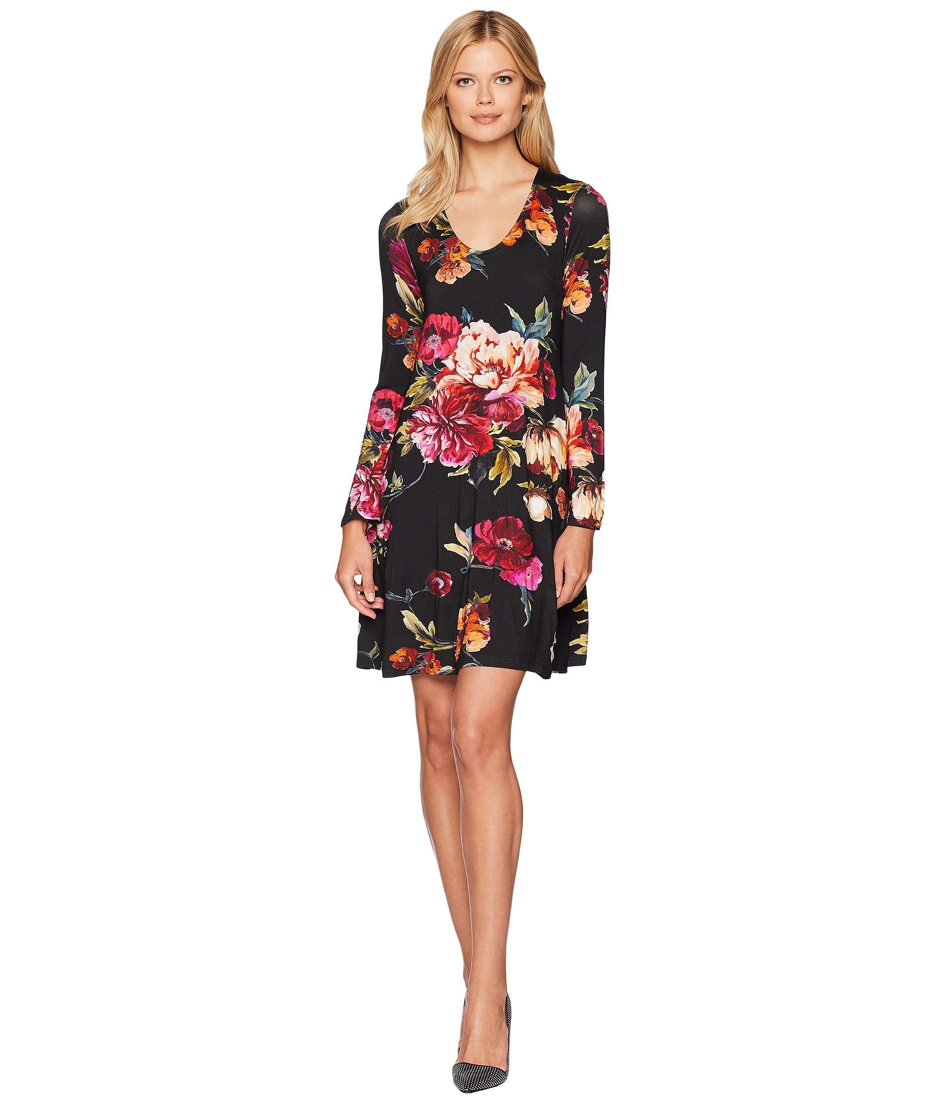 9064a8aadee Lyst - Karen Kane Floral Taylor Dress - Save 23%