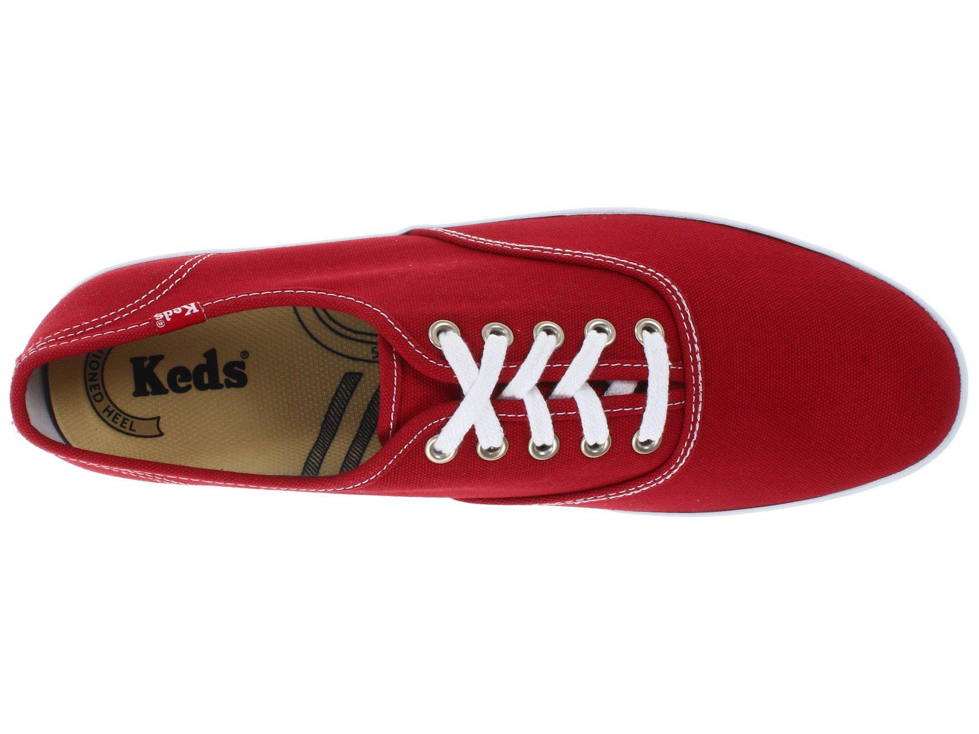 f4ccf34a342 Keds - Red Champion Cvo for Men - Lyst. View fullscreen