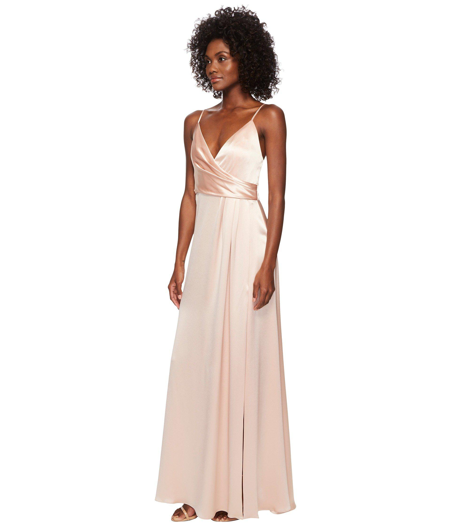61d57810dcd51 Lyst - JILL Jill Stuart Satin Back Crepe Slip Dress - Save  57.189542483660134%