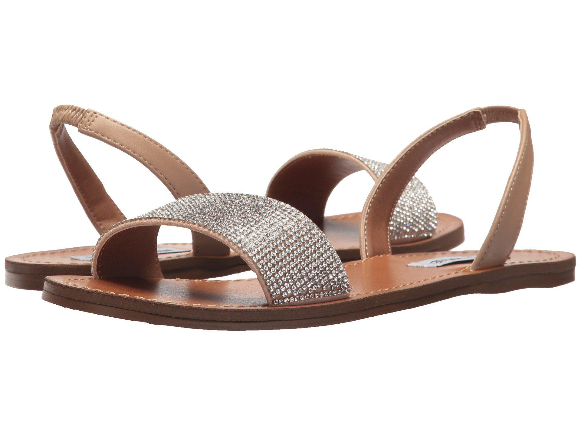 30d7279e84d8 Lyst - Steve Madden Rock Sandal in Brown - Save 26%