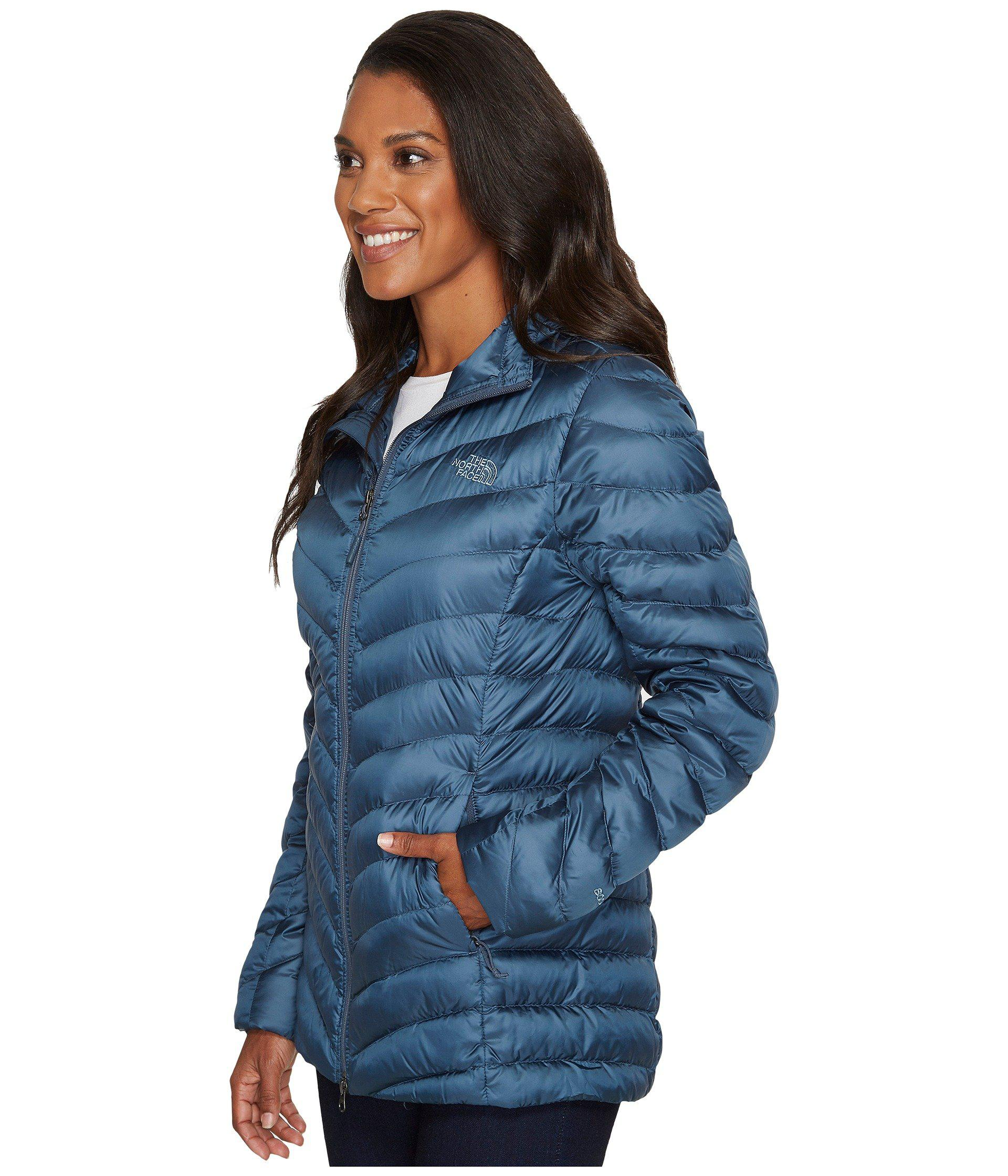 2f18e5c848 Lyst - The North Face Trevail Parka in Blue - Save 29%