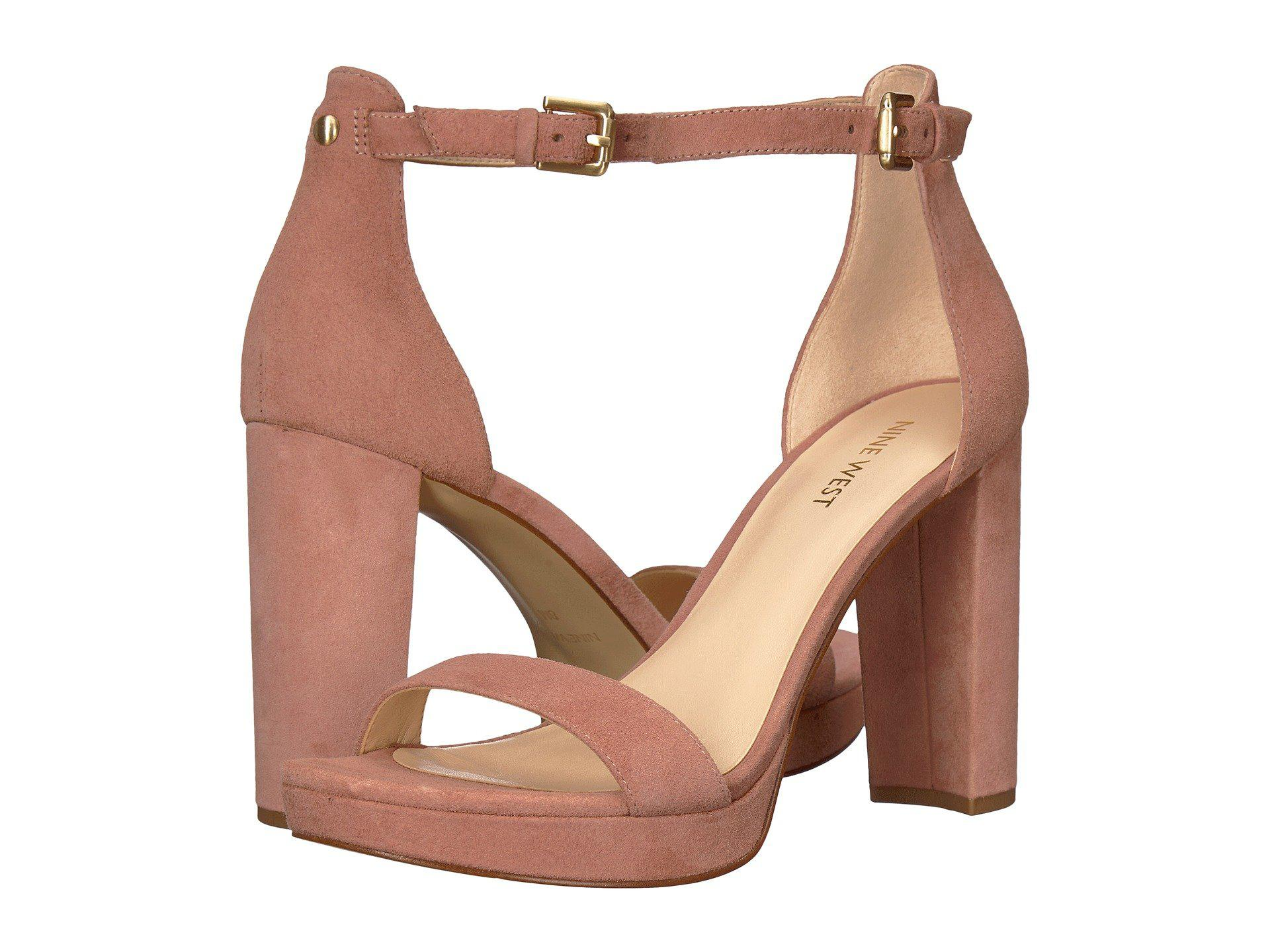 cce97b9a945c Lyst - Nine West Dempsey Platform Heel Sandal - Save 34%