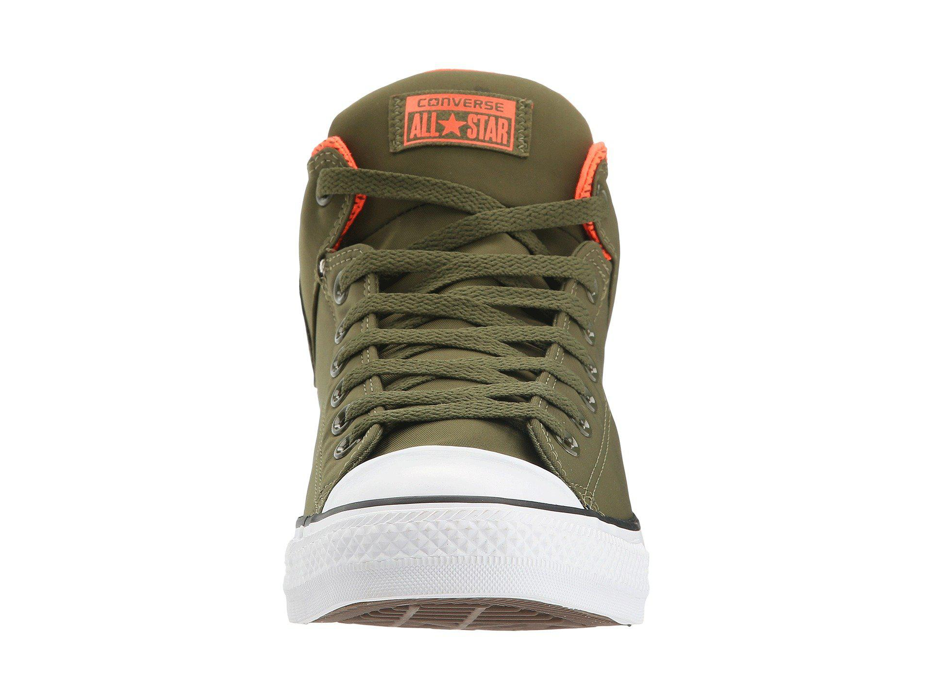 84b5aa280cb6 Lyst - Converse Chuck Taylor All Star High Street Sneakers in Green ...