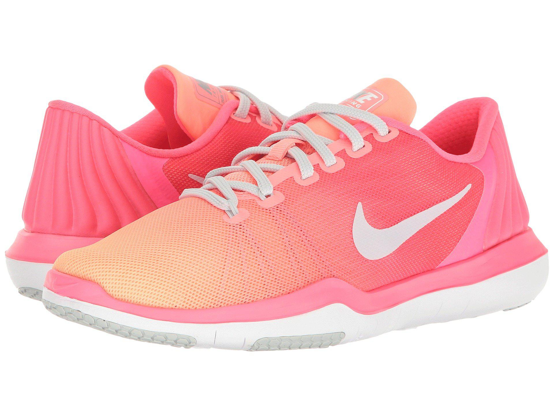 0670e7916ee21 Lyst - Nike Flex Supreme Tr 5 Training Shoe in Pink