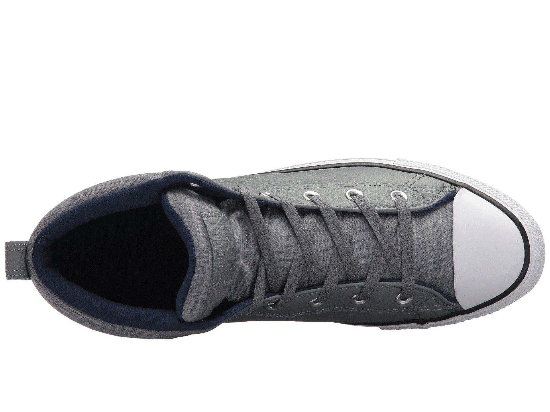 55b29662171 Lyst - Converse Chuck Taylor® All Star® High Street Leather W ...