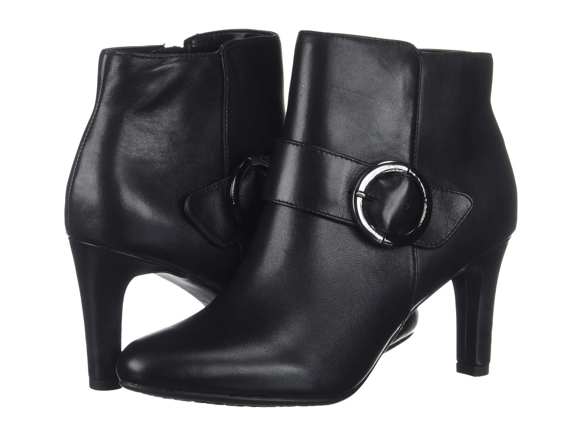 a79deebea0f1 Lyst - Bandolino Lanaro Ankle Boot in Black - Save 50%