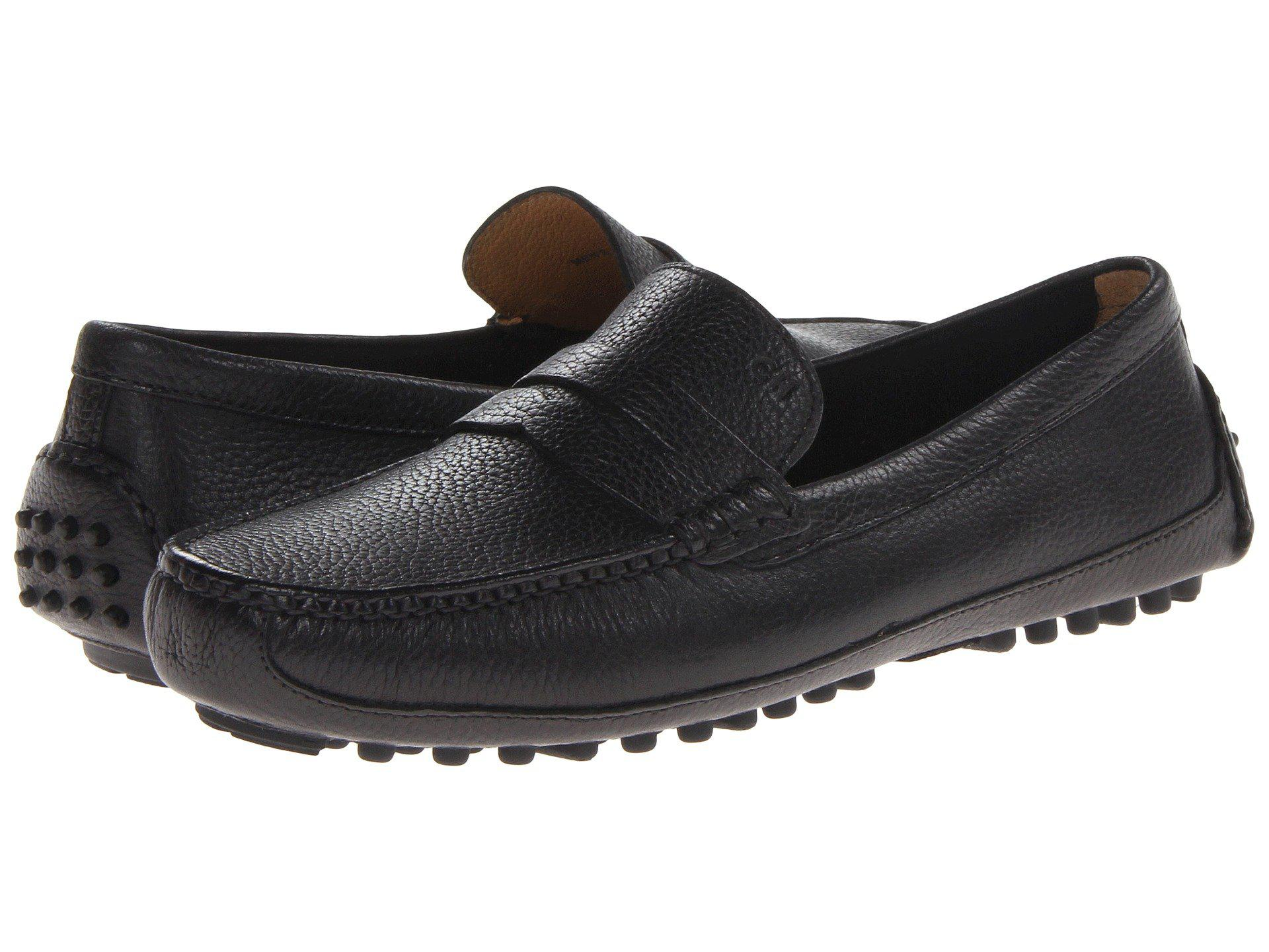 dcc111772b5 Lyst - Cole Haan Grant Canoe Penny in Black for Men - Save 38%