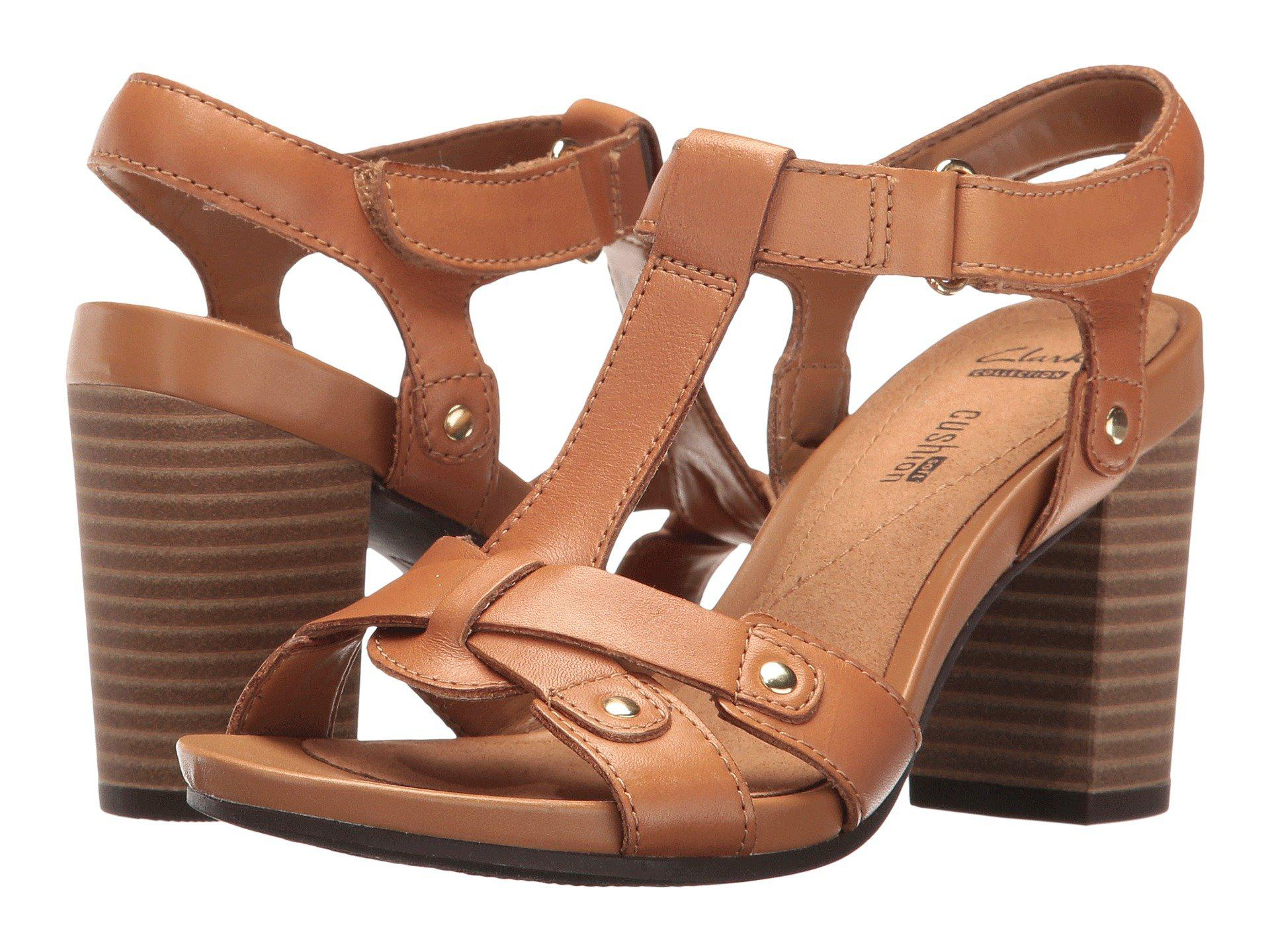 eb20f3a42220 Lyst - Clarks Banoy Valtina in Brown