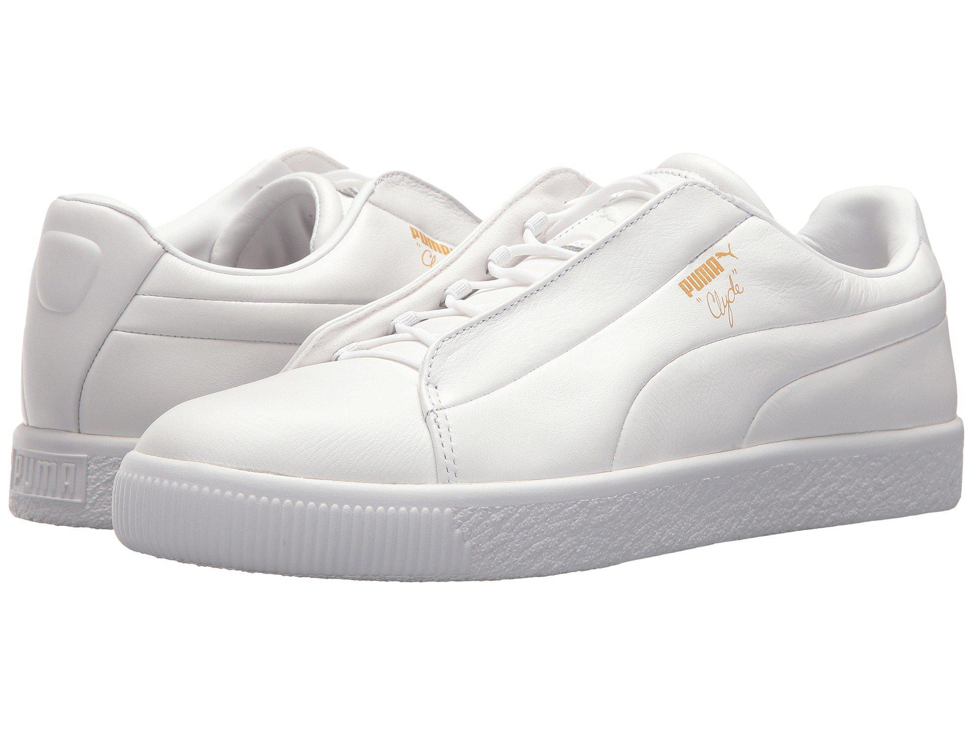 8408fc47263 Puma  Lyst - Puma Clyde Fashion Leather in White  Puma x ...