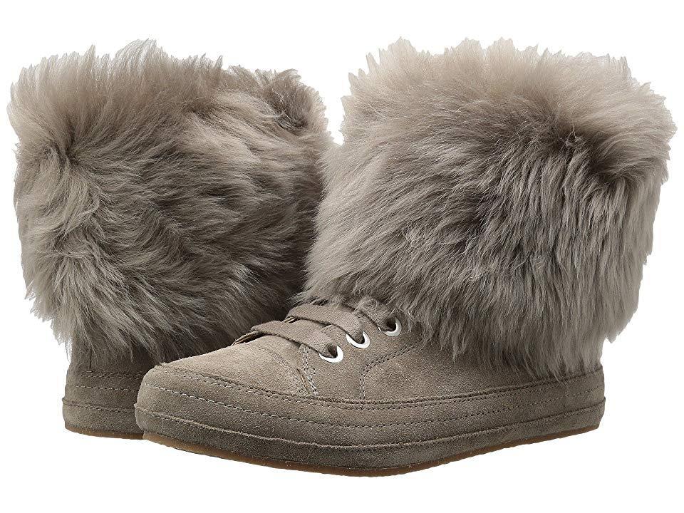 a20574e1305 UGG Antoine Fur (slate) Boots in Metallic - Lyst