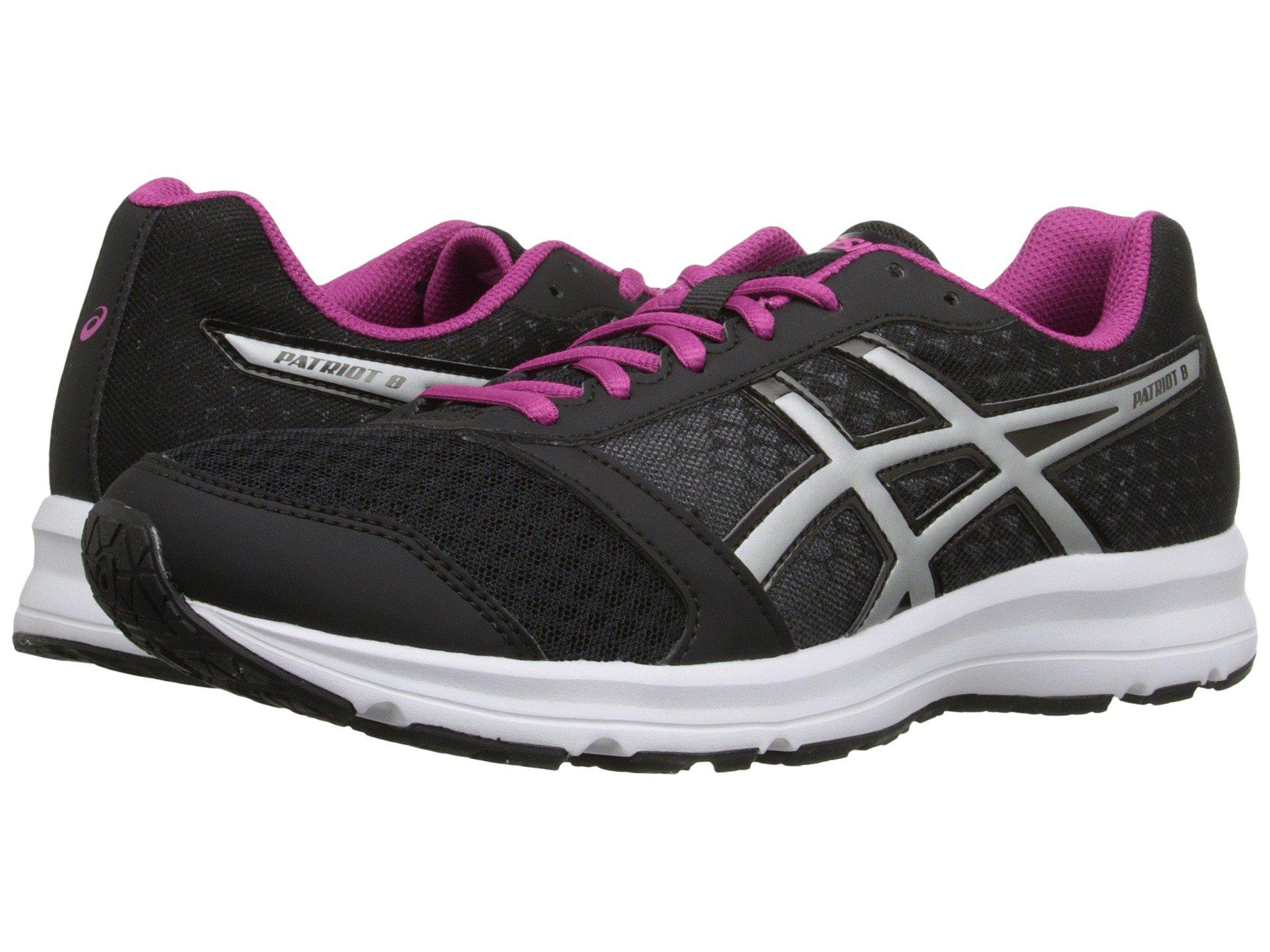 Asics. Women's Black Patriot 8